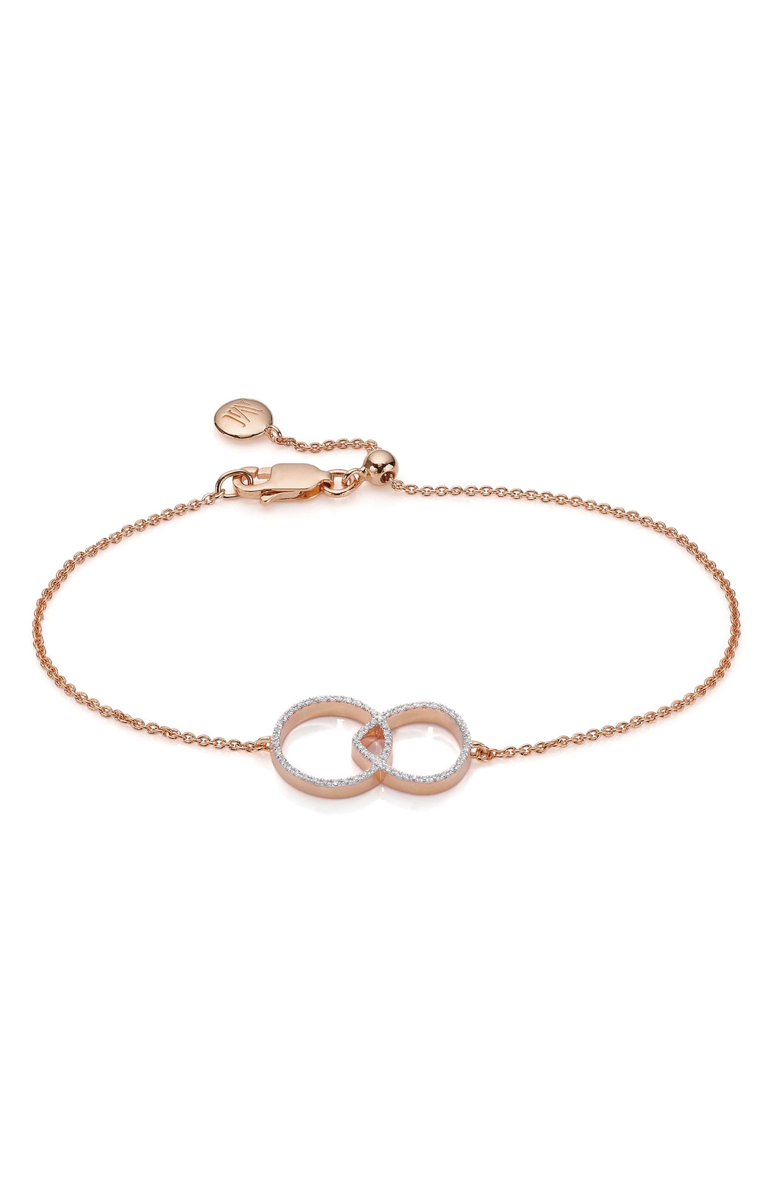 Naida Diamond Kiss Bracelet,                             Main thumbnail 1, color,                             650