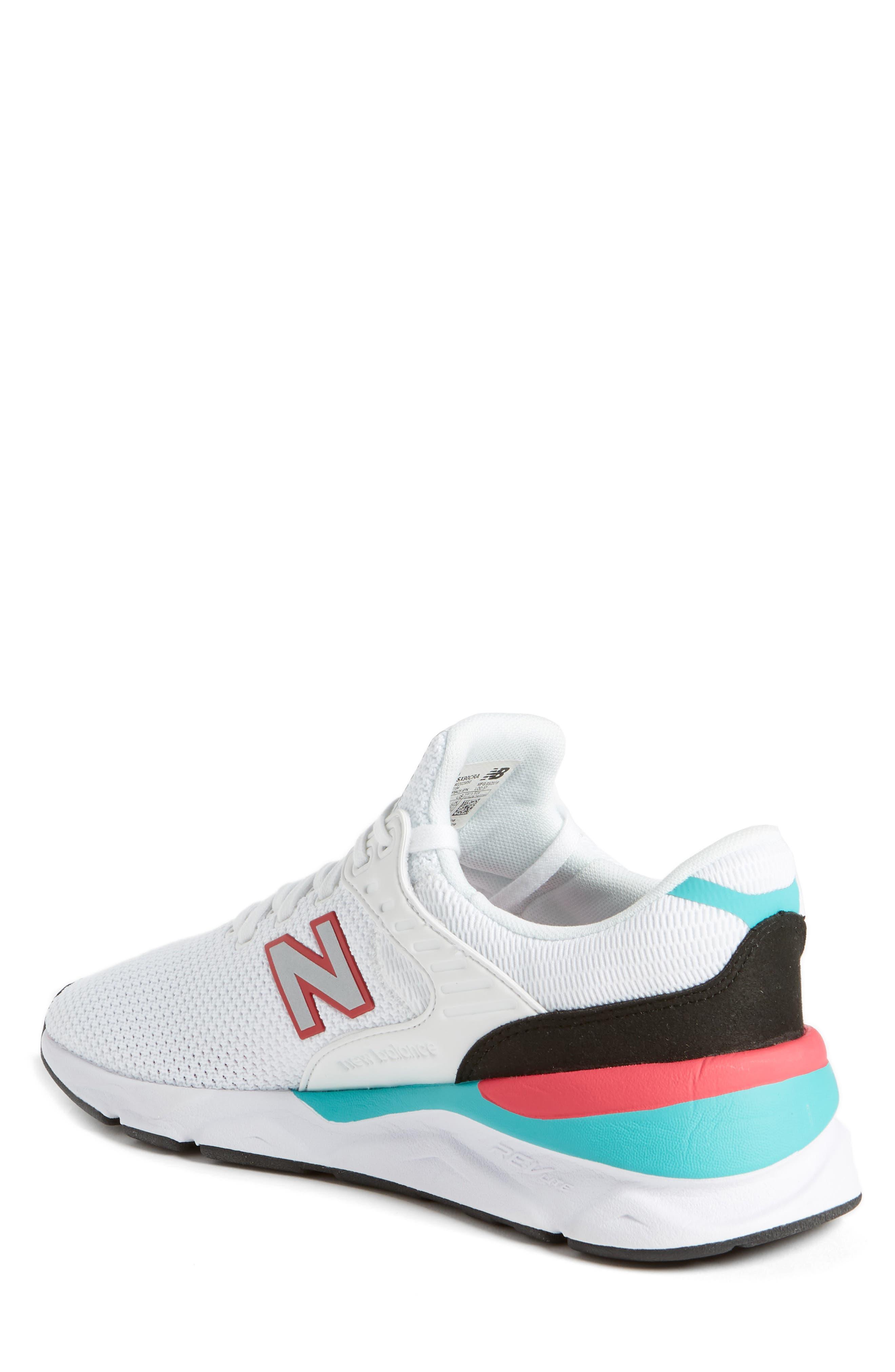 X-90 Knit Sneaker,                             Alternate thumbnail 2, color,                             WHITE