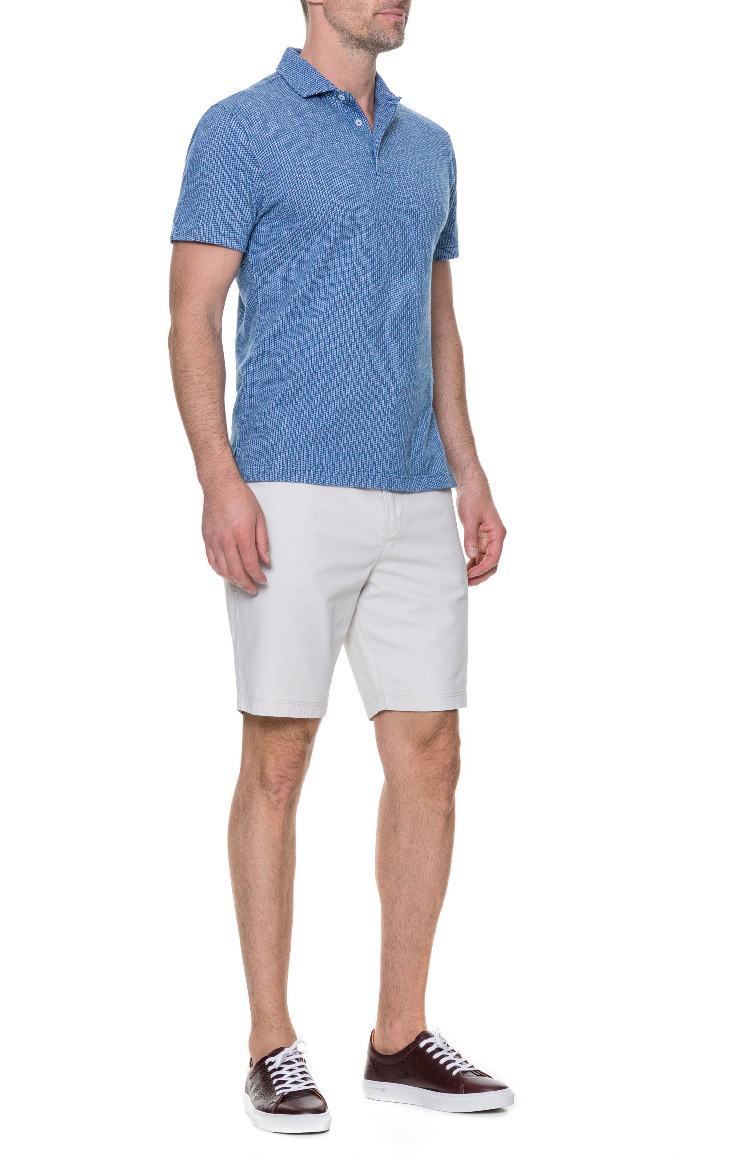 Thoms Bay Sports Fit Polo,                             Alternate thumbnail 5, color,                             423