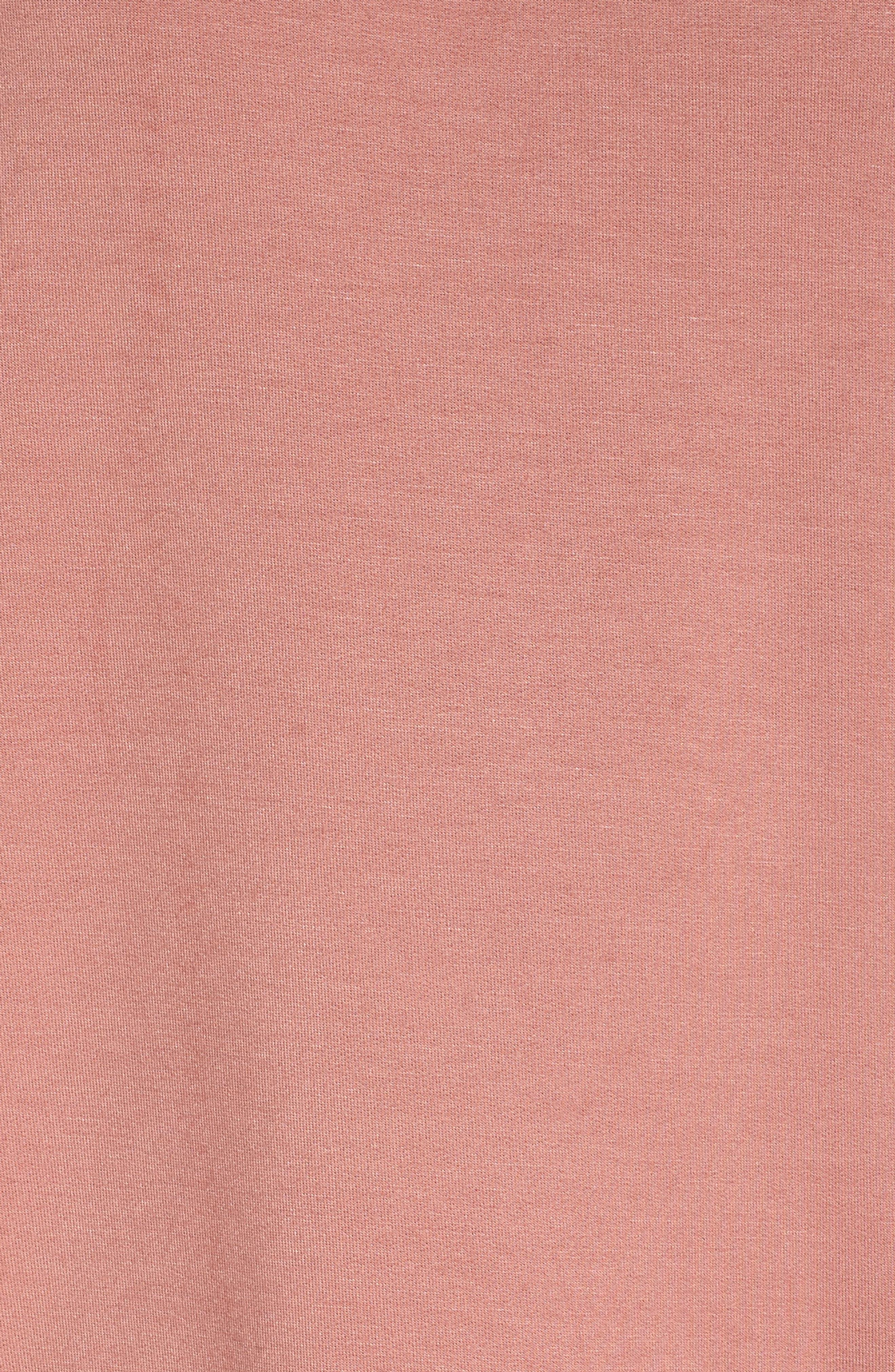 Elevens Sweatshirt,                             Alternate thumbnail 5, color,                             MAUVE/ SAND