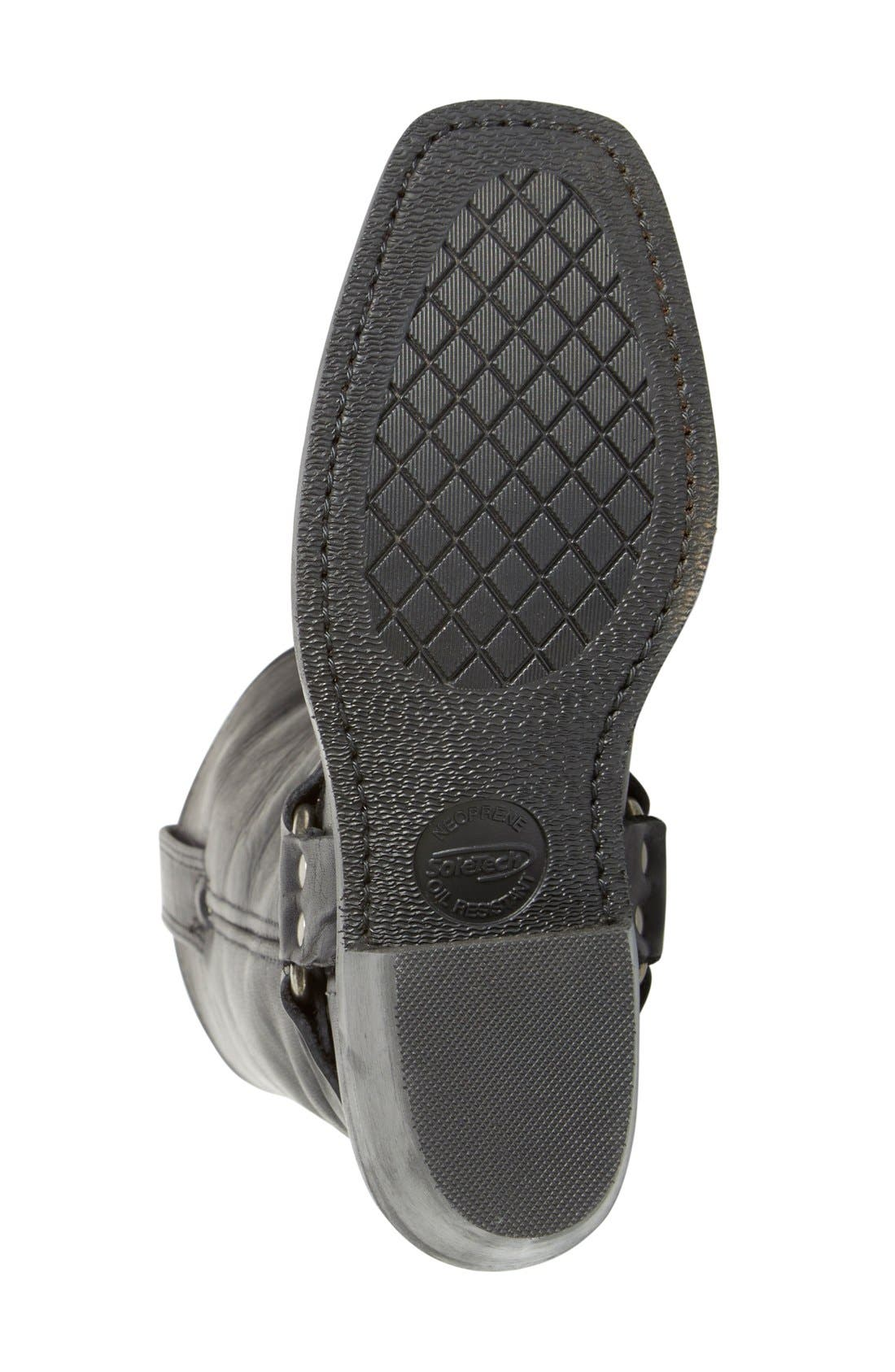 'Harness 12R' Boot,                             Alternate thumbnail 3, color,                             BLACK LEATHER