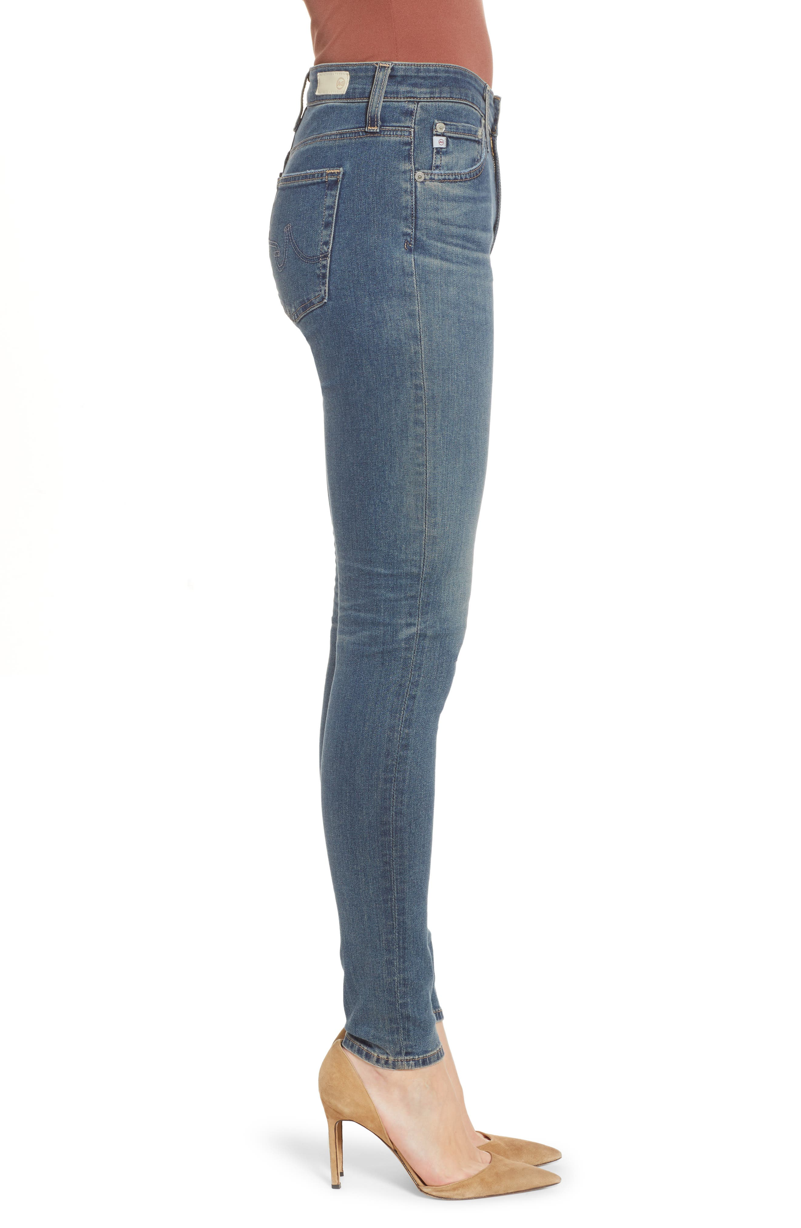 The Farrah High Waist Skinny Jeans,                             Alternate thumbnail 3, color,                             12Y TENACIOUS