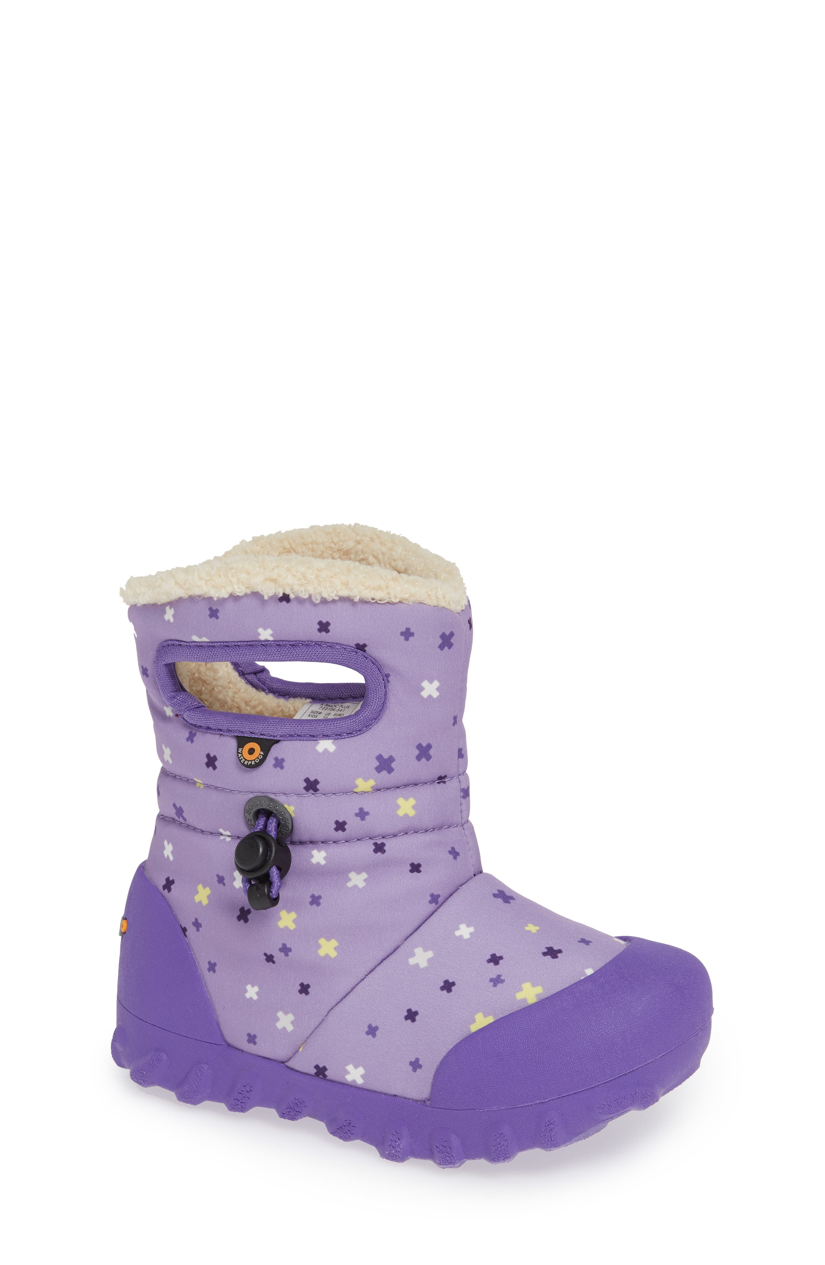 Bogs B-Moc Plus Waterproof Insulated Faux Fur Boot