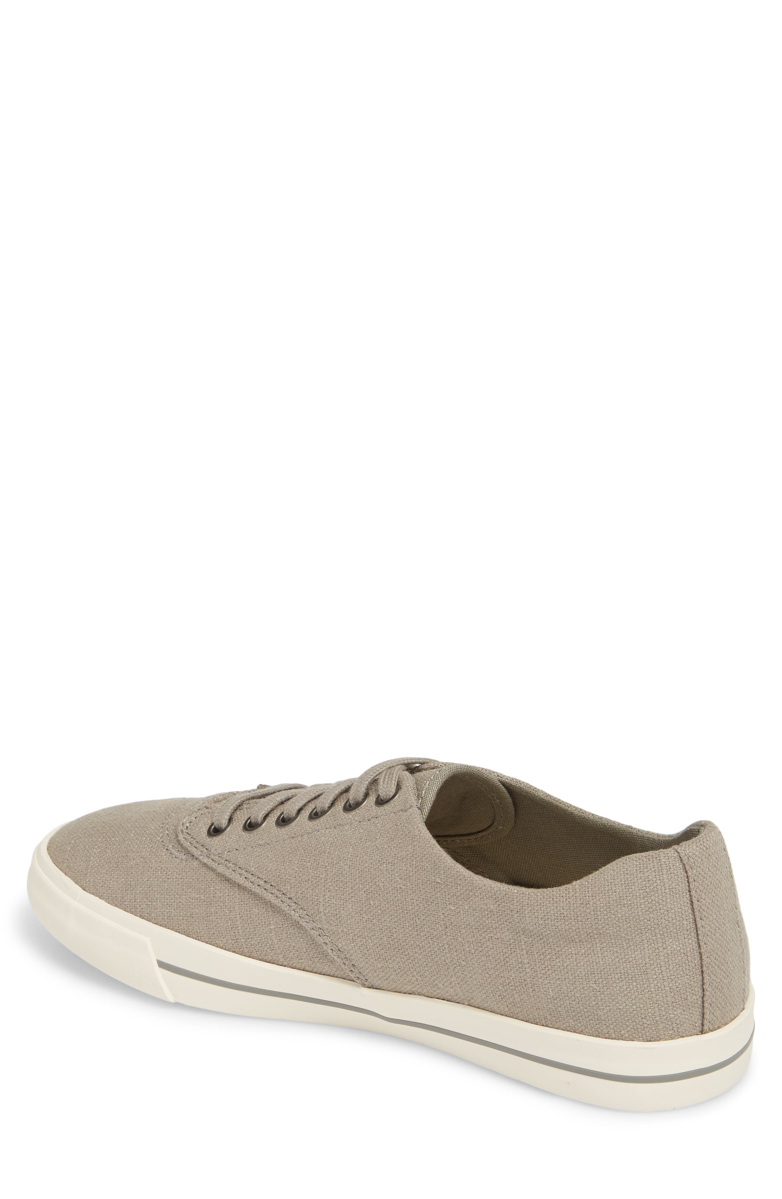 'Hermosa Plimsoll' Sneaker,                             Alternate thumbnail 2, color,                             TIN GREY VINTAGE WASH LINEN