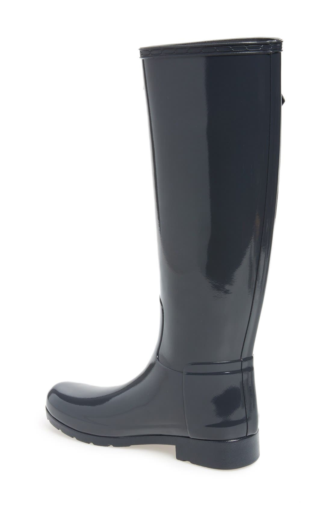 'Original Refined' High Gloss Rain Boot,                             Alternate thumbnail 16, color,