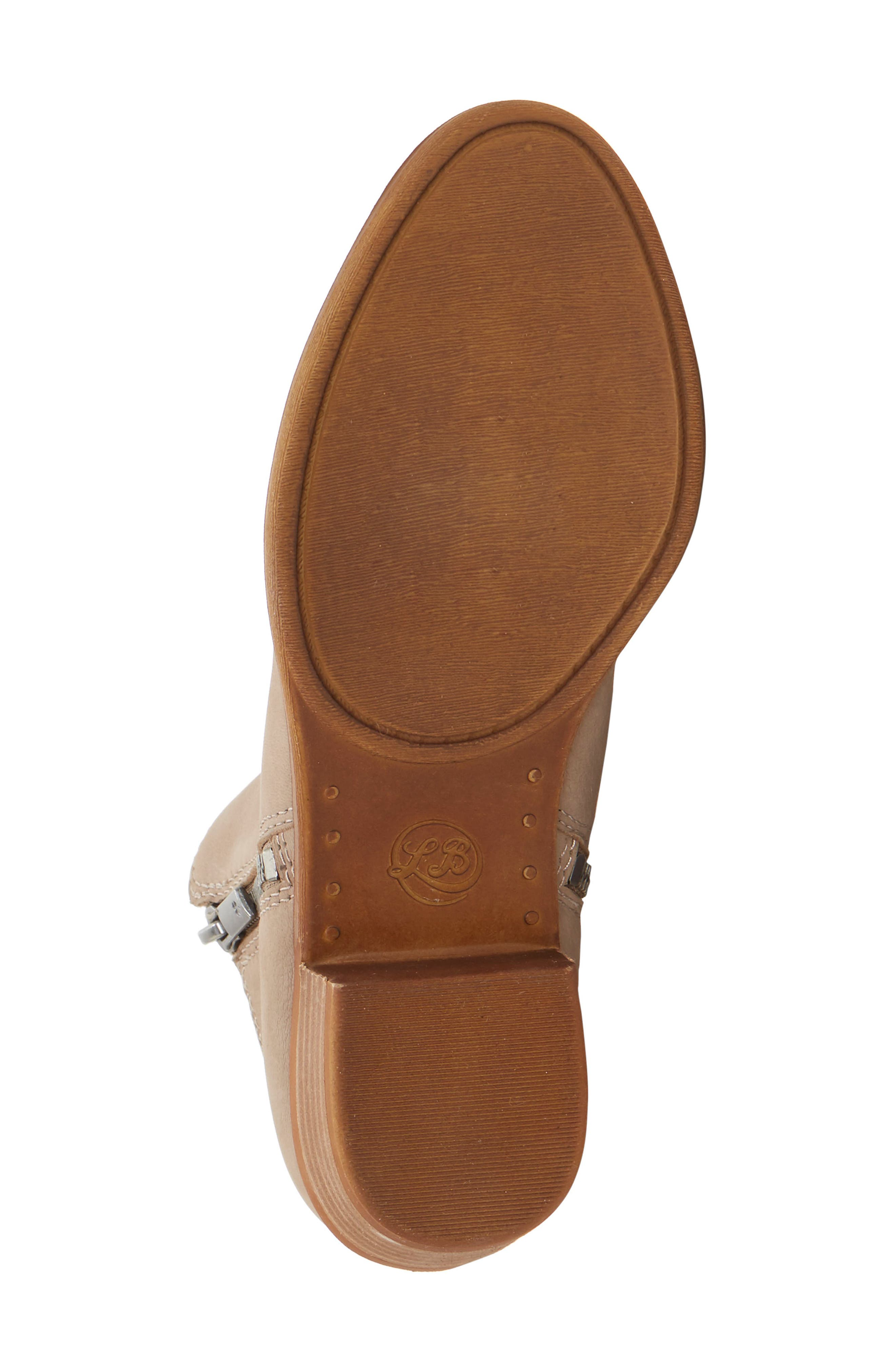Basel Bootie,                             Alternate thumbnail 4, color,                             CHINCHILLA SUEDE