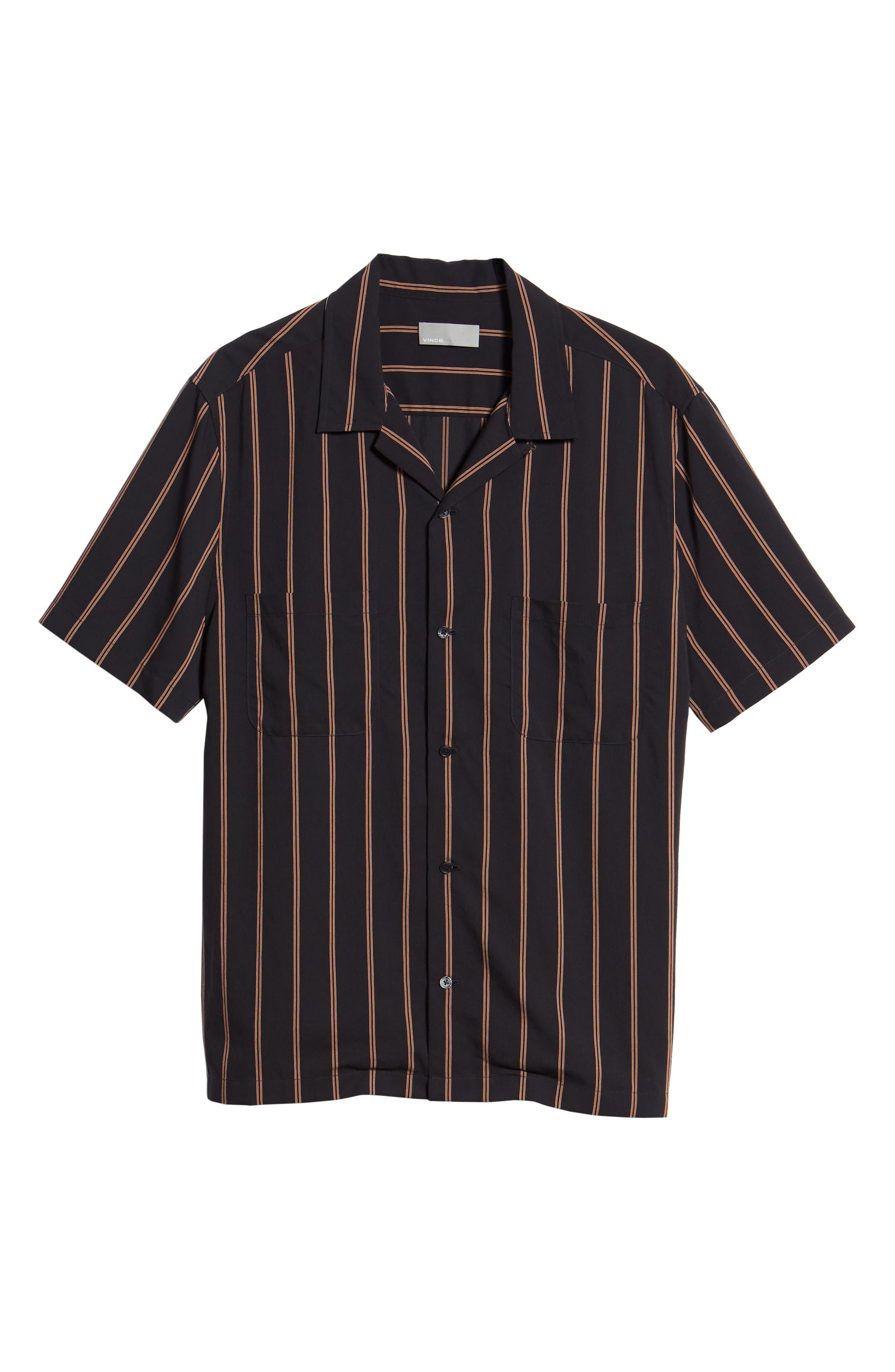 VINCE,                             Classic Vintage Cabana Shirt,                             Alternate thumbnail 6, color,                             463