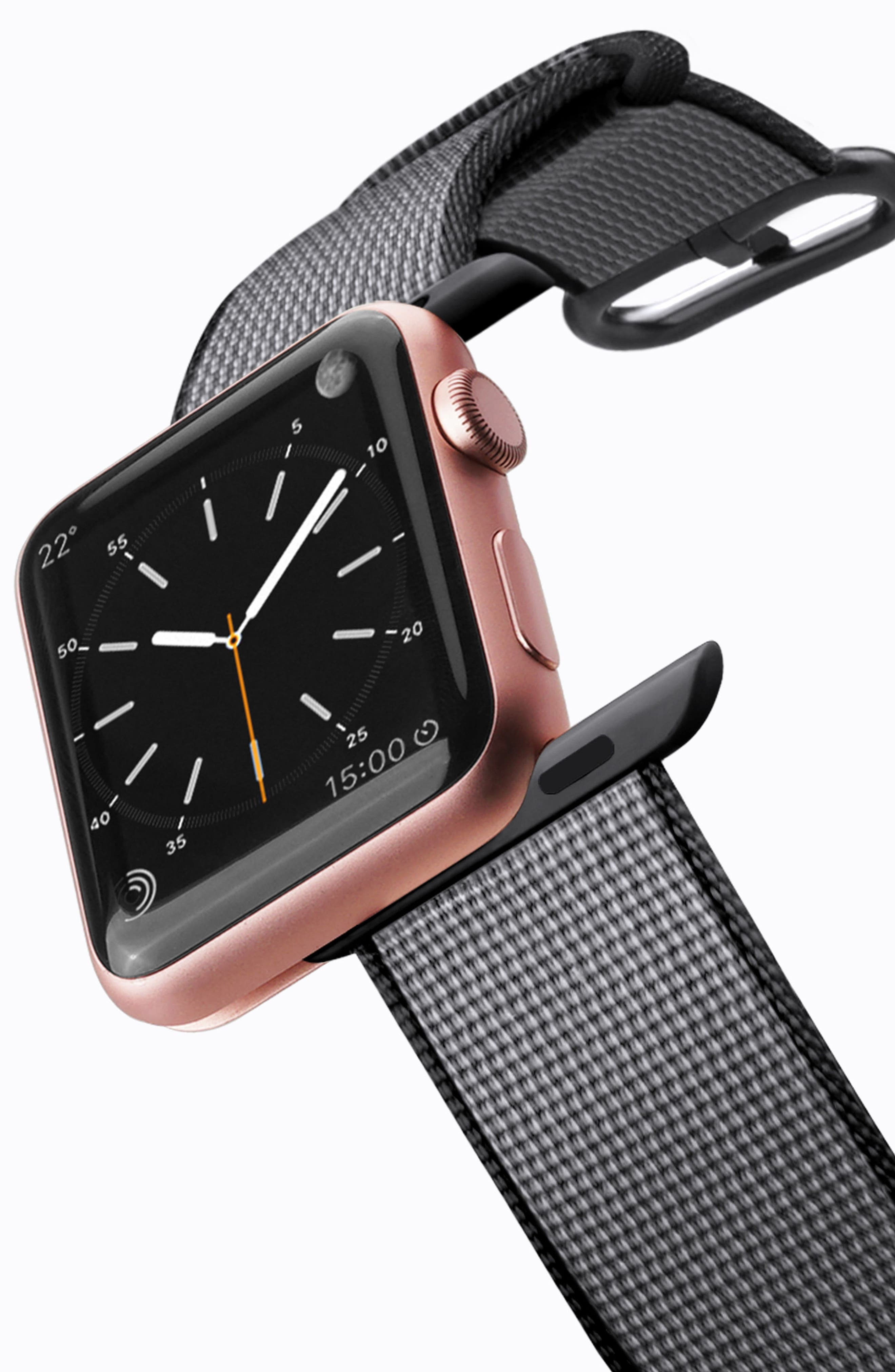 Nylon Apple Watch Strap, 38mm,                             Alternate thumbnail 9, color,