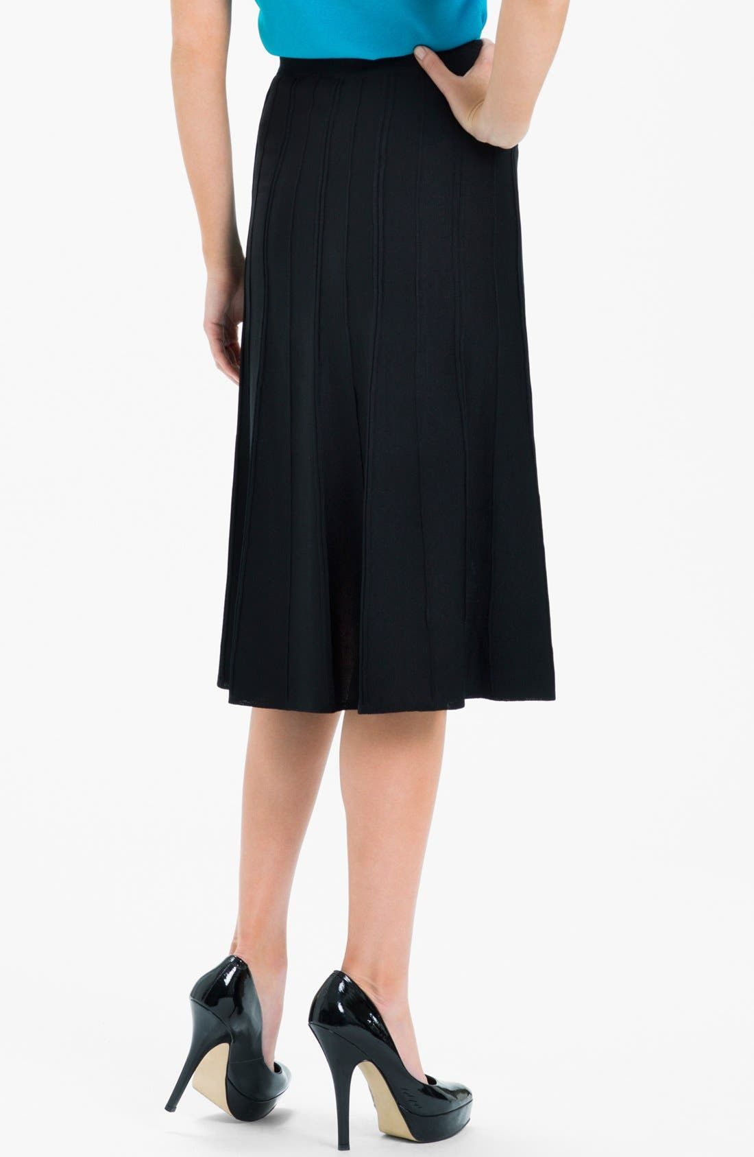 A-Line Skirt,                             Alternate thumbnail 2, color,                             001