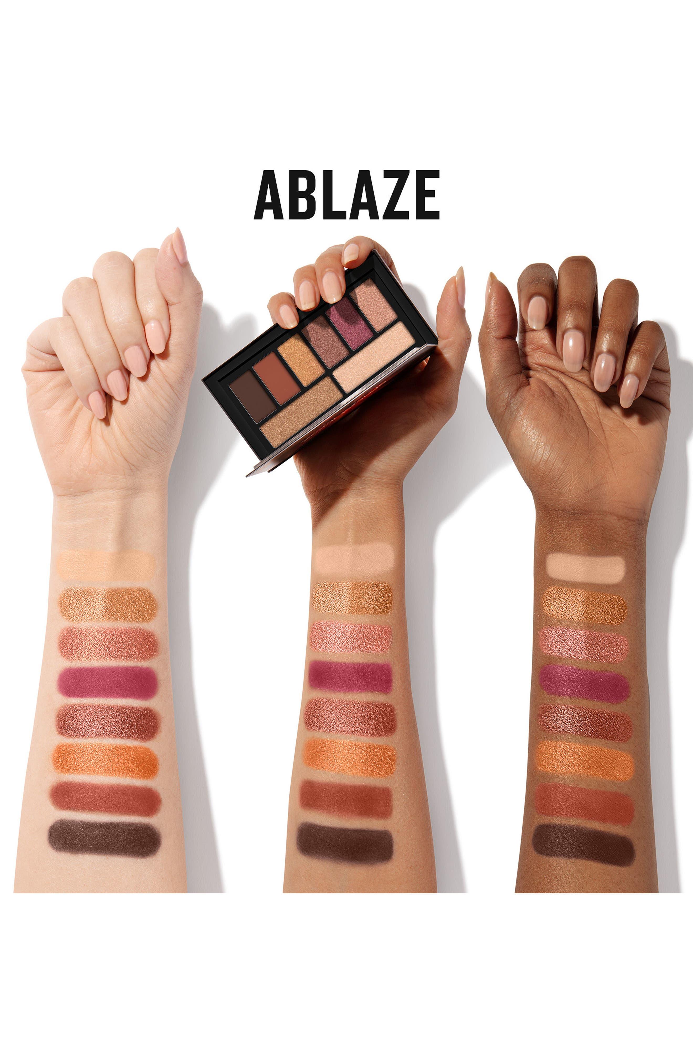 Cover Shot Ablaze Eyeshadow Palette,                             Alternate thumbnail 2, color,                             ABLAZE
