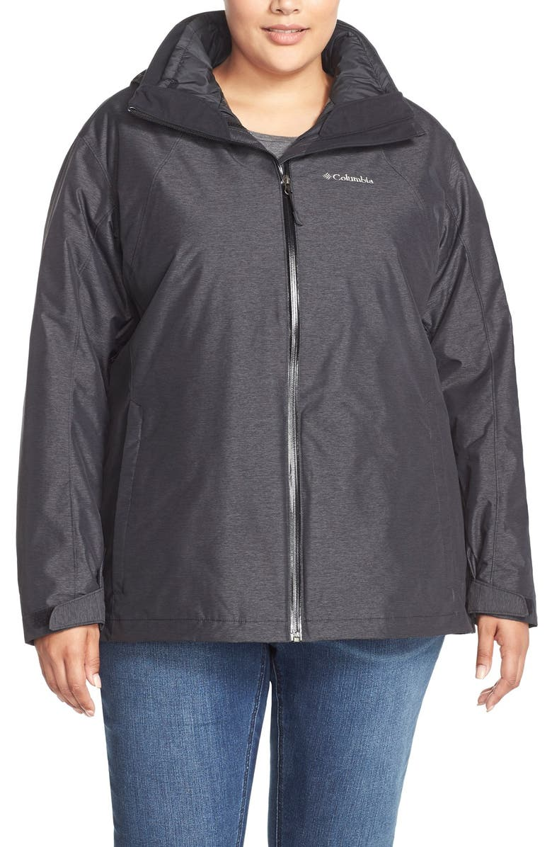 e9bf4d75db2 Columbia  Whirlibird Interchange  Hooded 3-in-1 Jacket (Plus Size ...