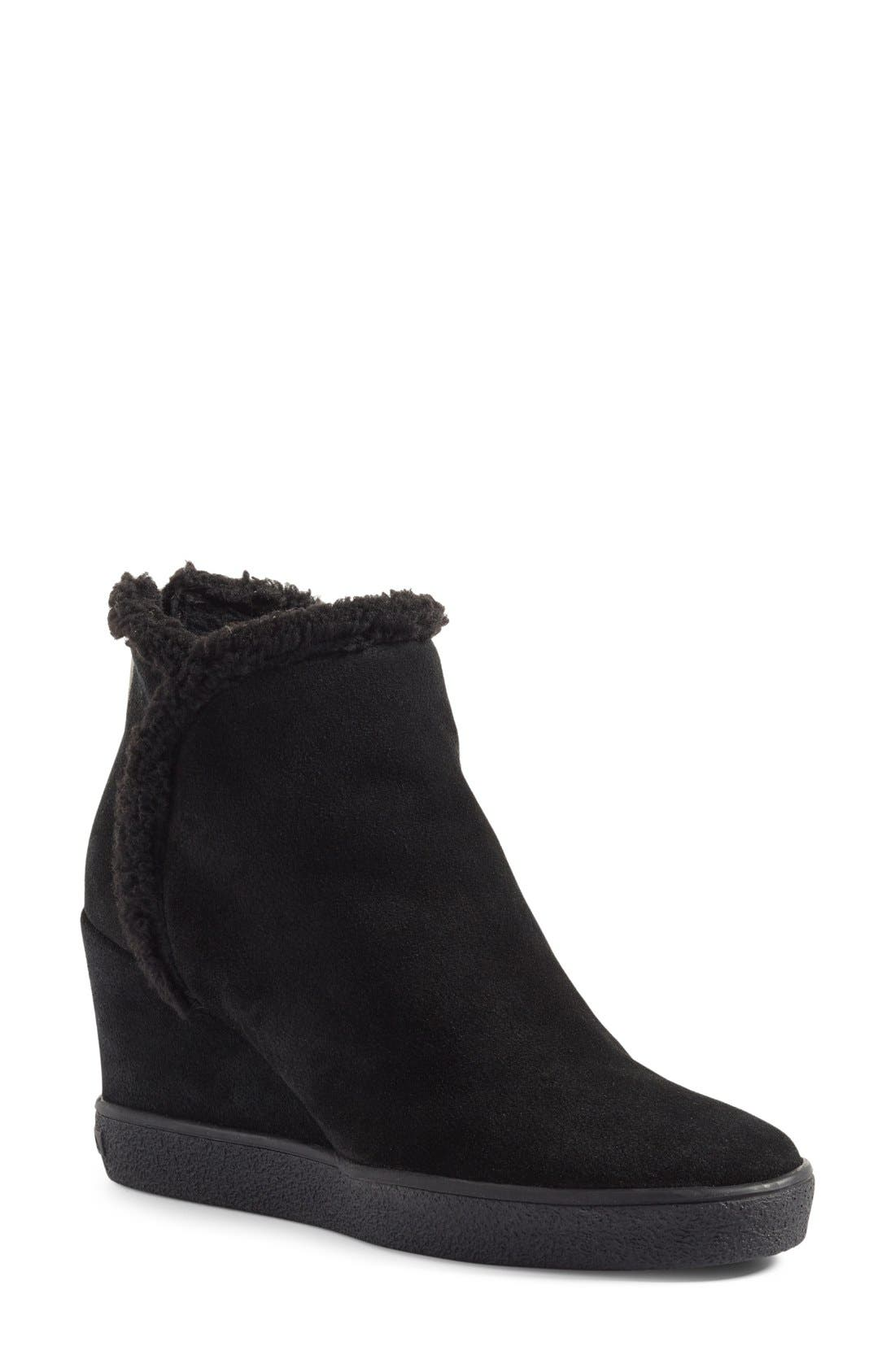 Charlie Weatherproof Hidden Wedge Bootie,                             Main thumbnail 1, color,                             001