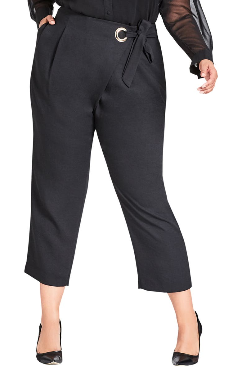 City Chic TWISTER PANTS