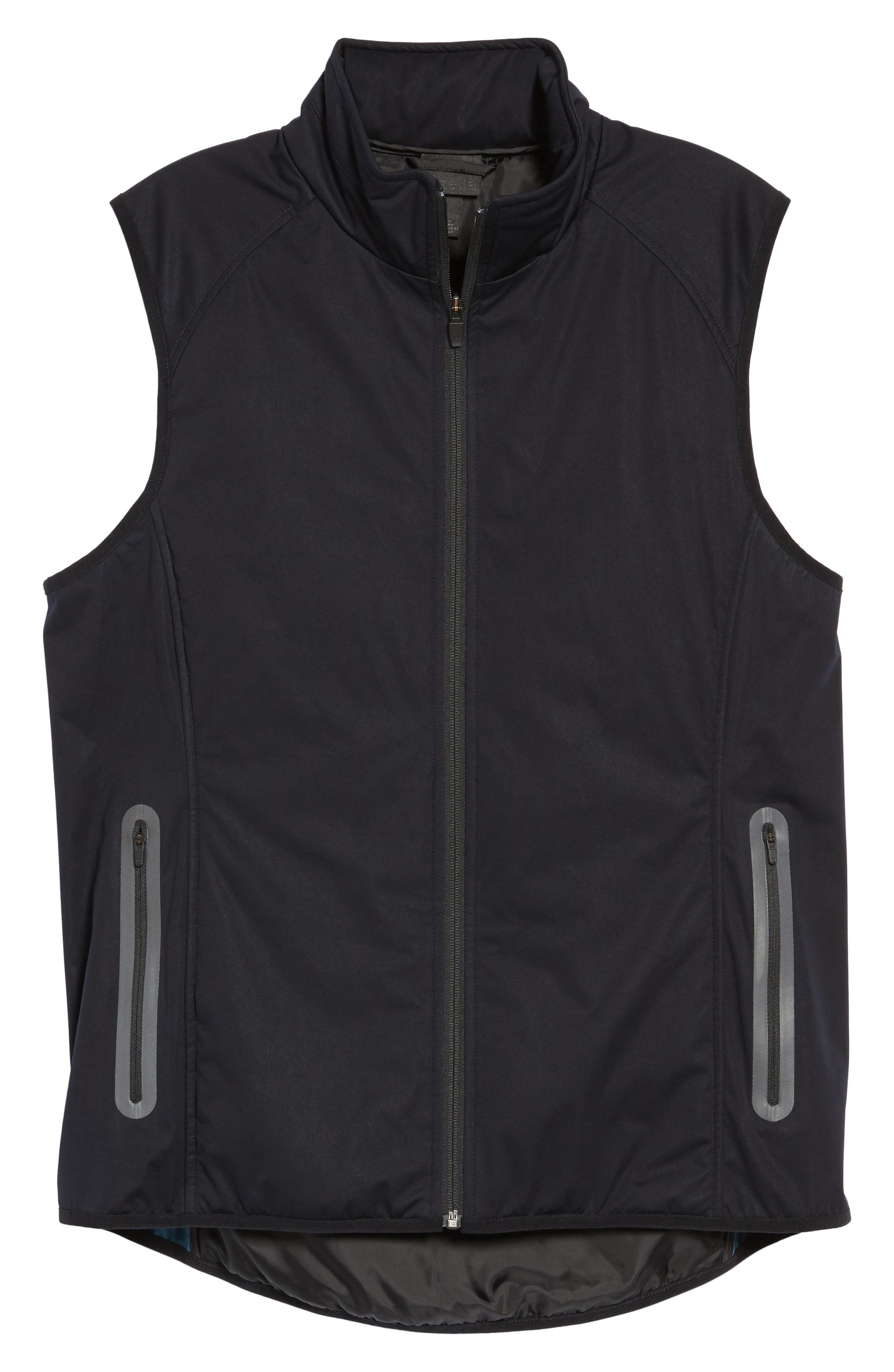 Soft Shell Zip Vest,                             Alternate thumbnail 5, color,                             001
