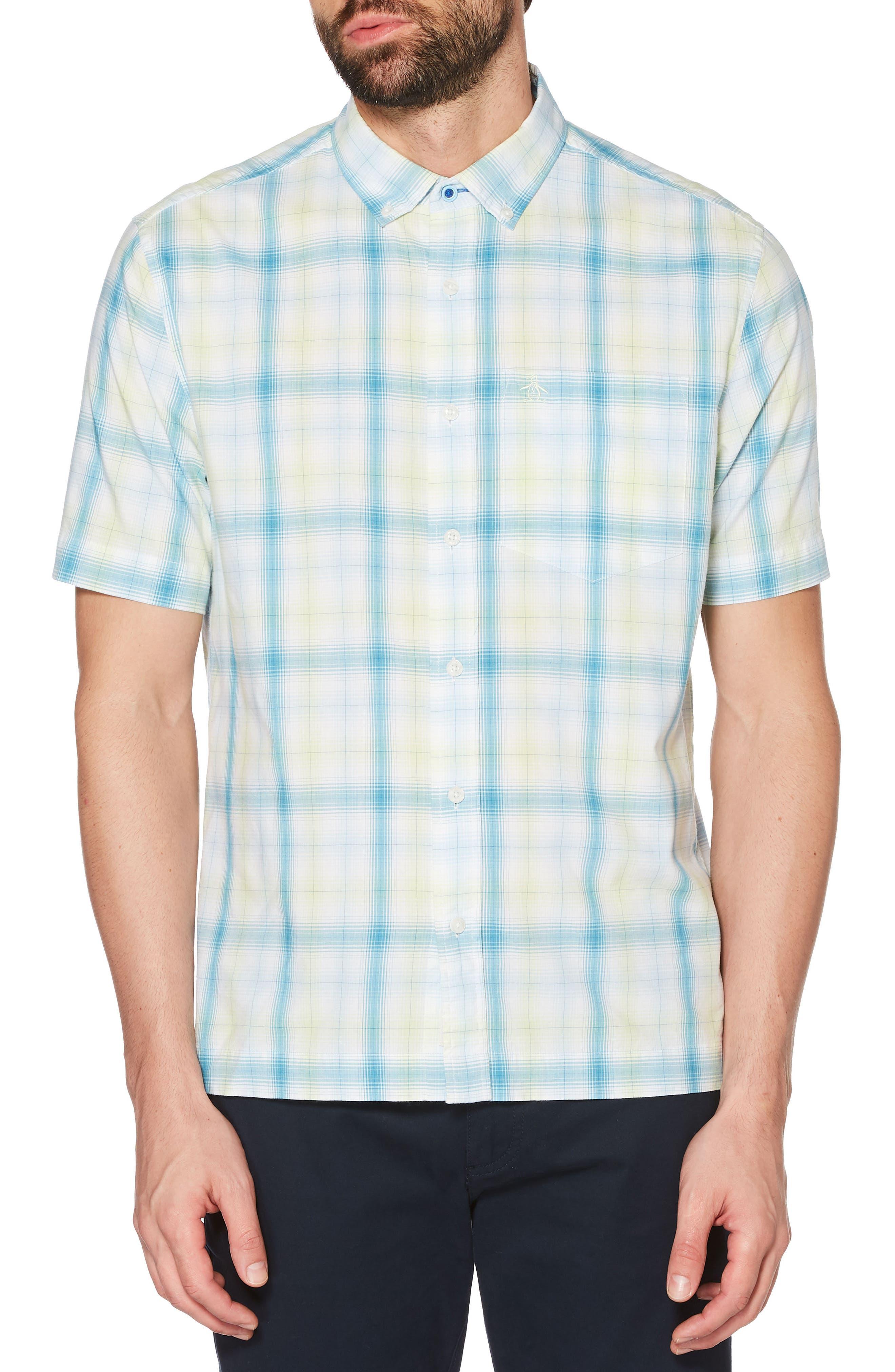 Straight Hem Woven Shirt,                         Main,                         color, 332