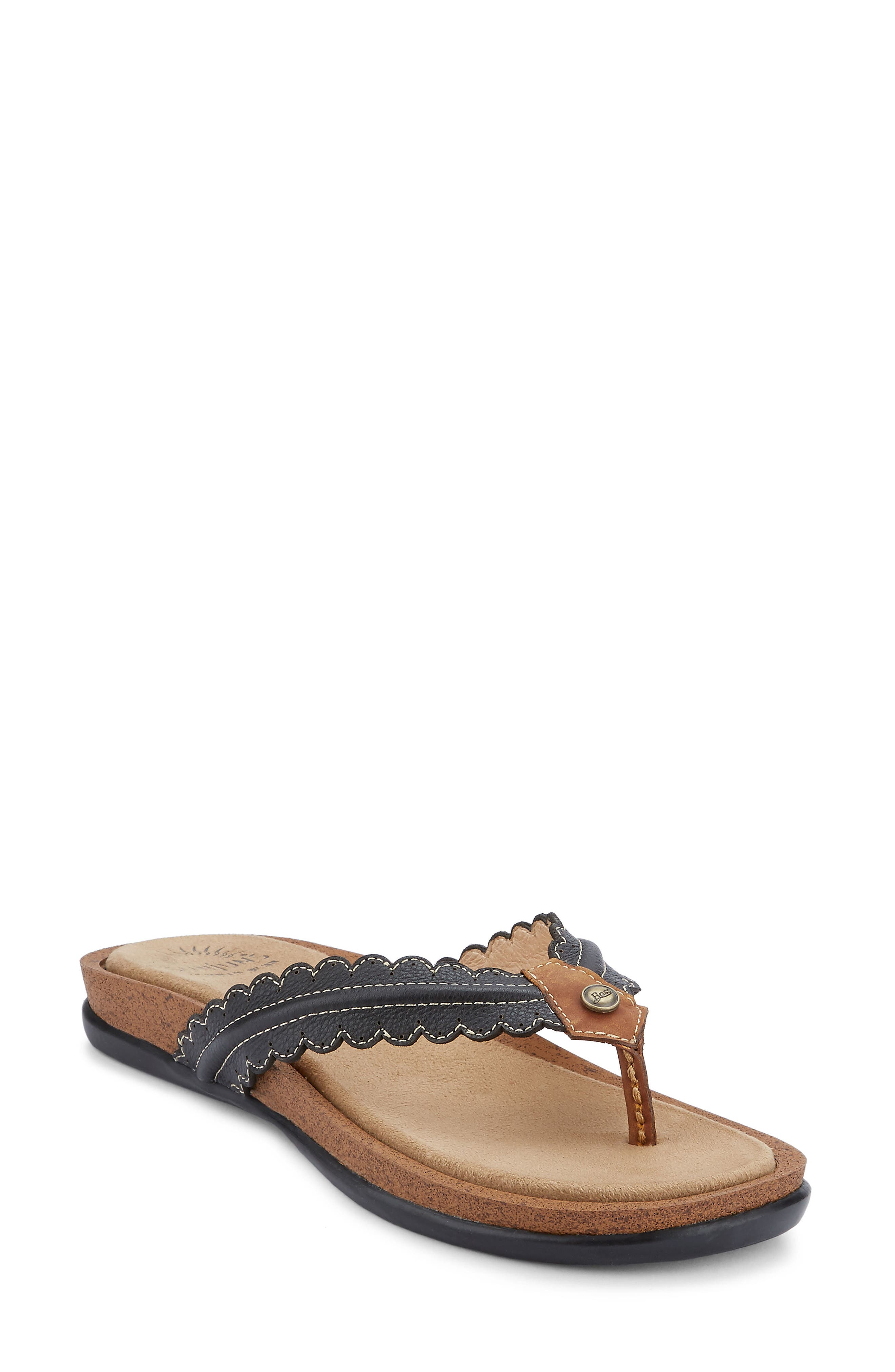 G.H. Bass and Co. Samantha Thong Sandal,                             Main thumbnail 1, color,