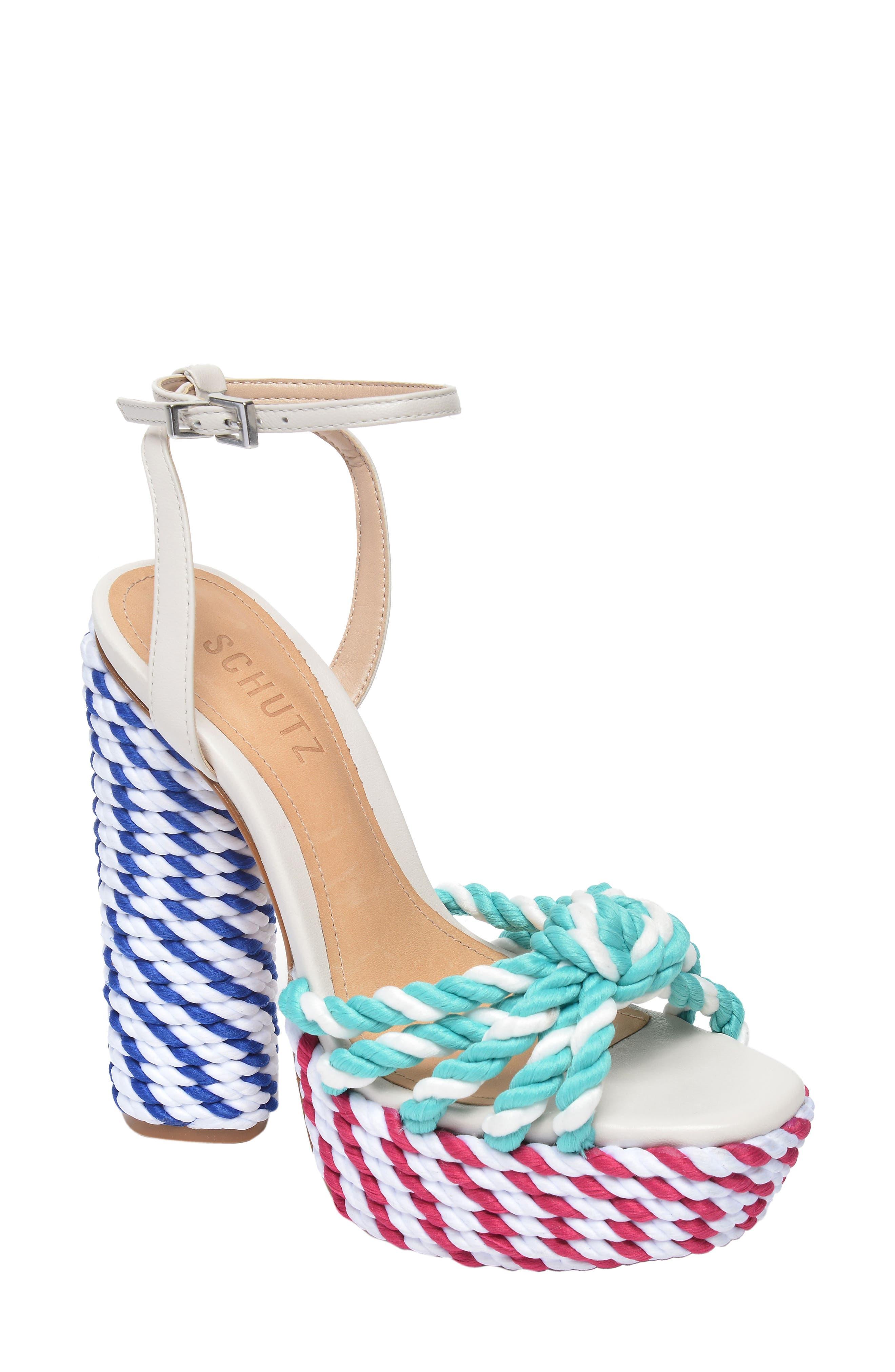 x Adriana Lima Shulis Sandal,                         Main,                         color, 001