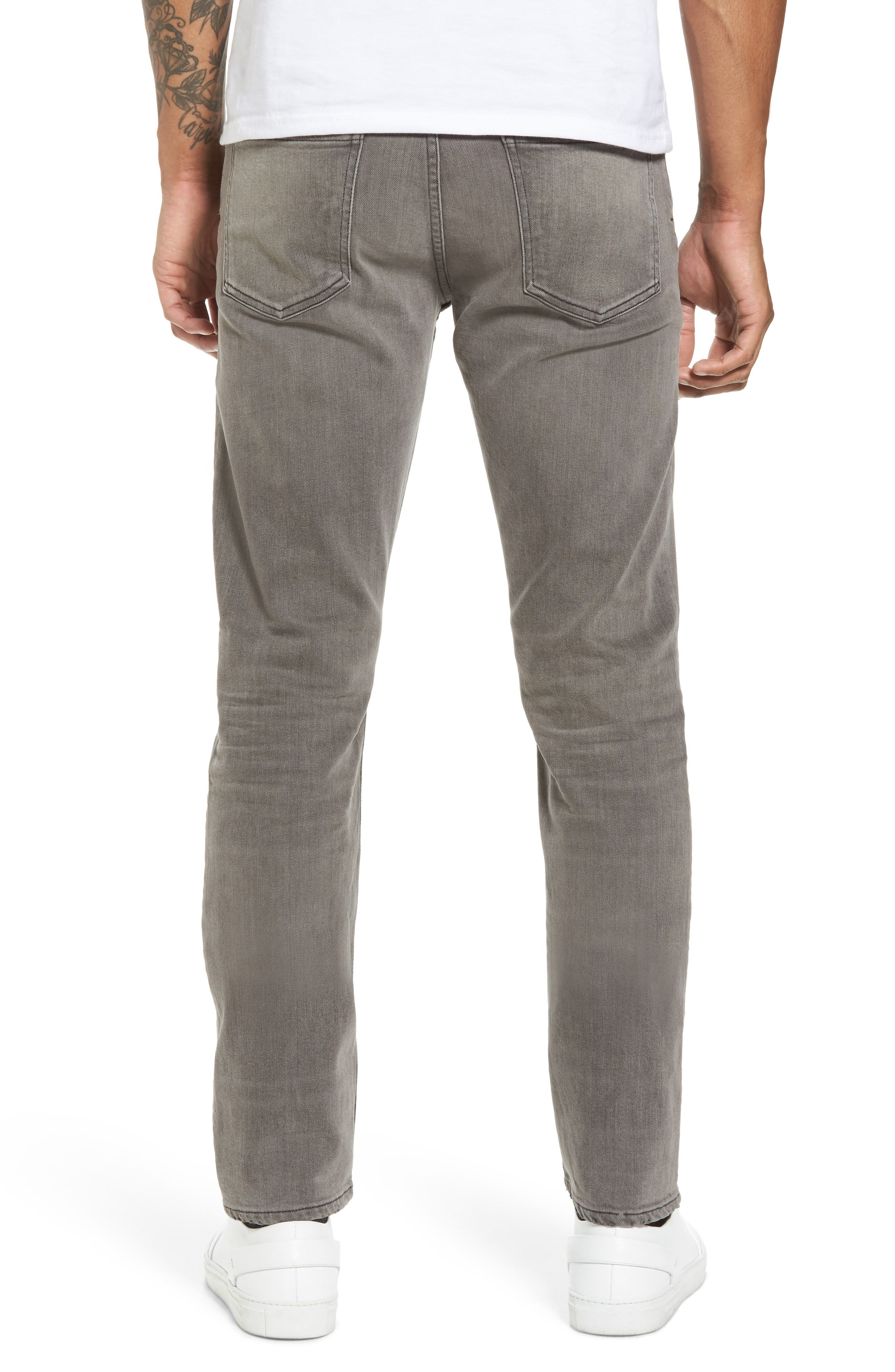 Bowery Slim Fit Jeans,                             Alternate thumbnail 2, color,                             LEON