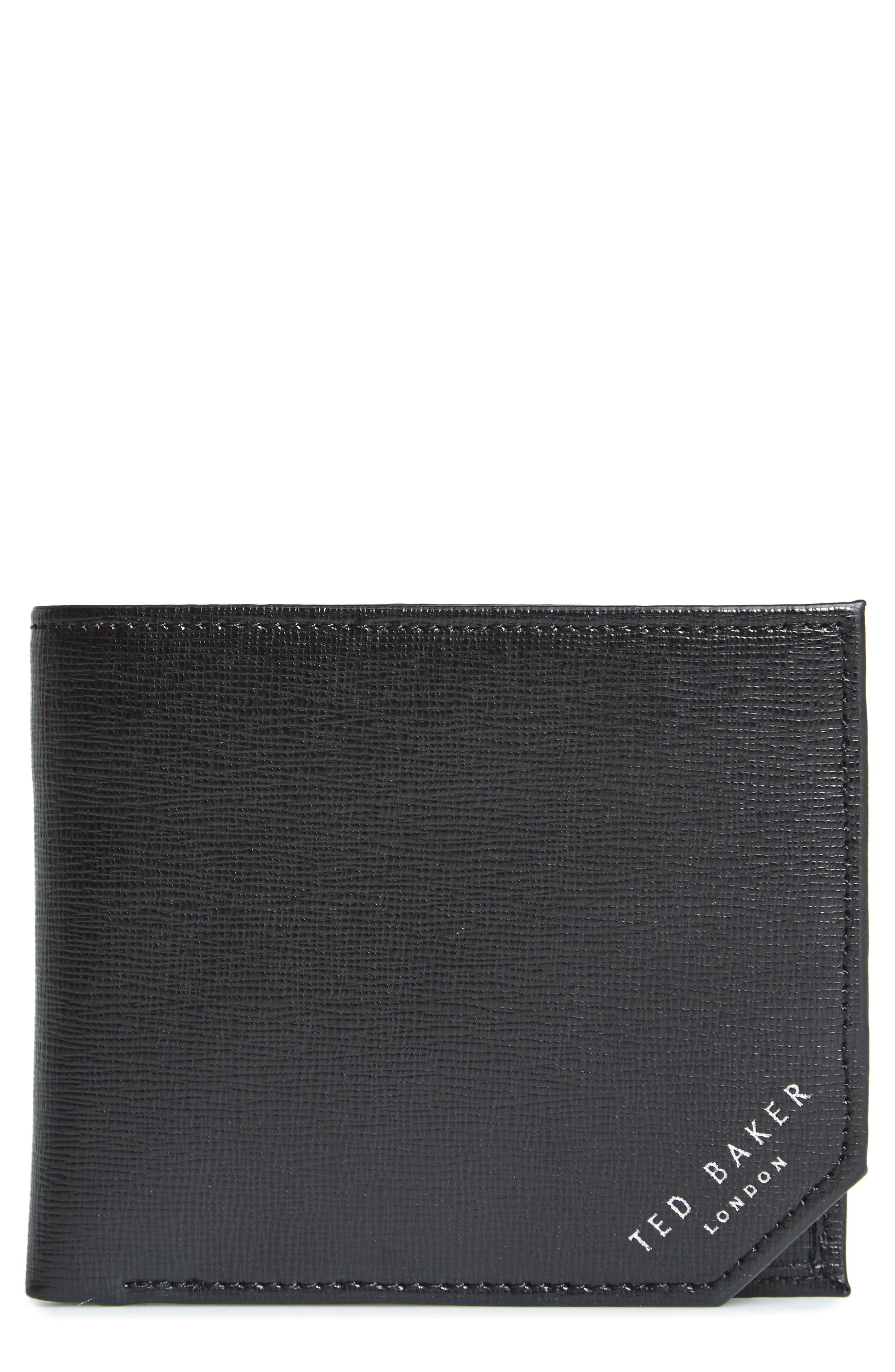 Stitchup Bifold Wallet,                             Main thumbnail 1, color,                             001
