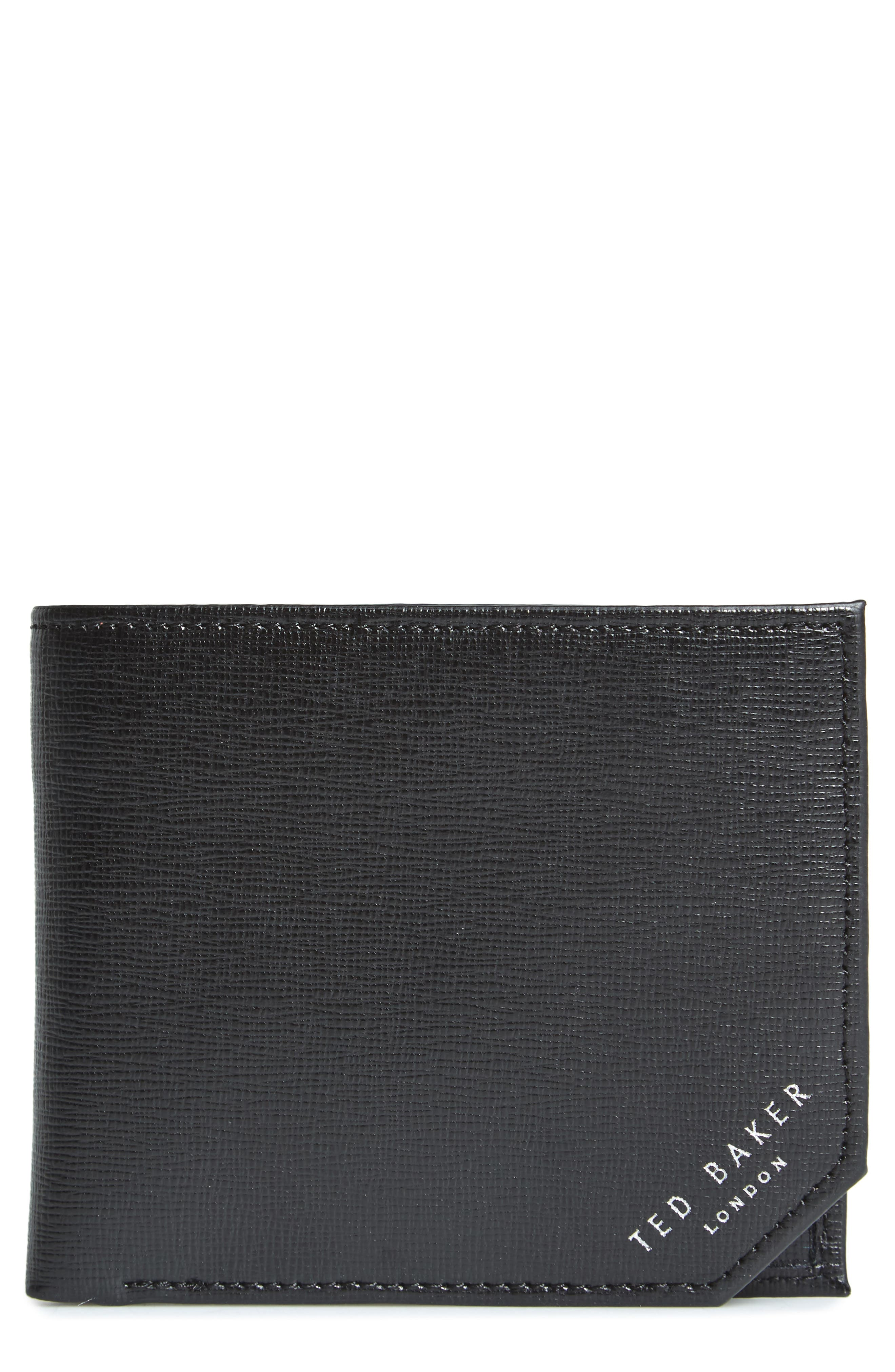 Stitchup Bifold Wallet,                         Main,                         color, 001