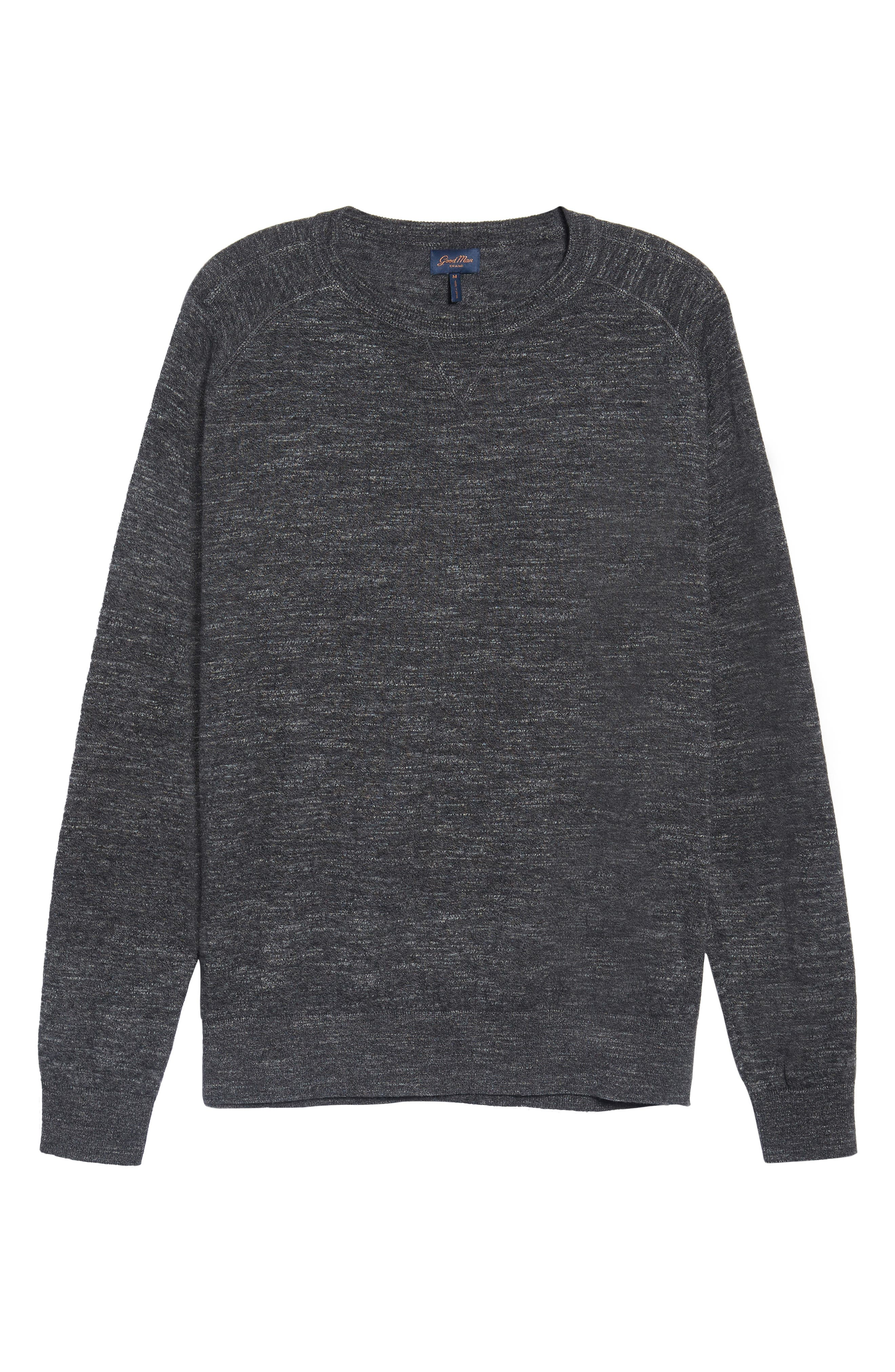 Slub Pullover Sweater,                             Alternate thumbnail 6, color,                             020