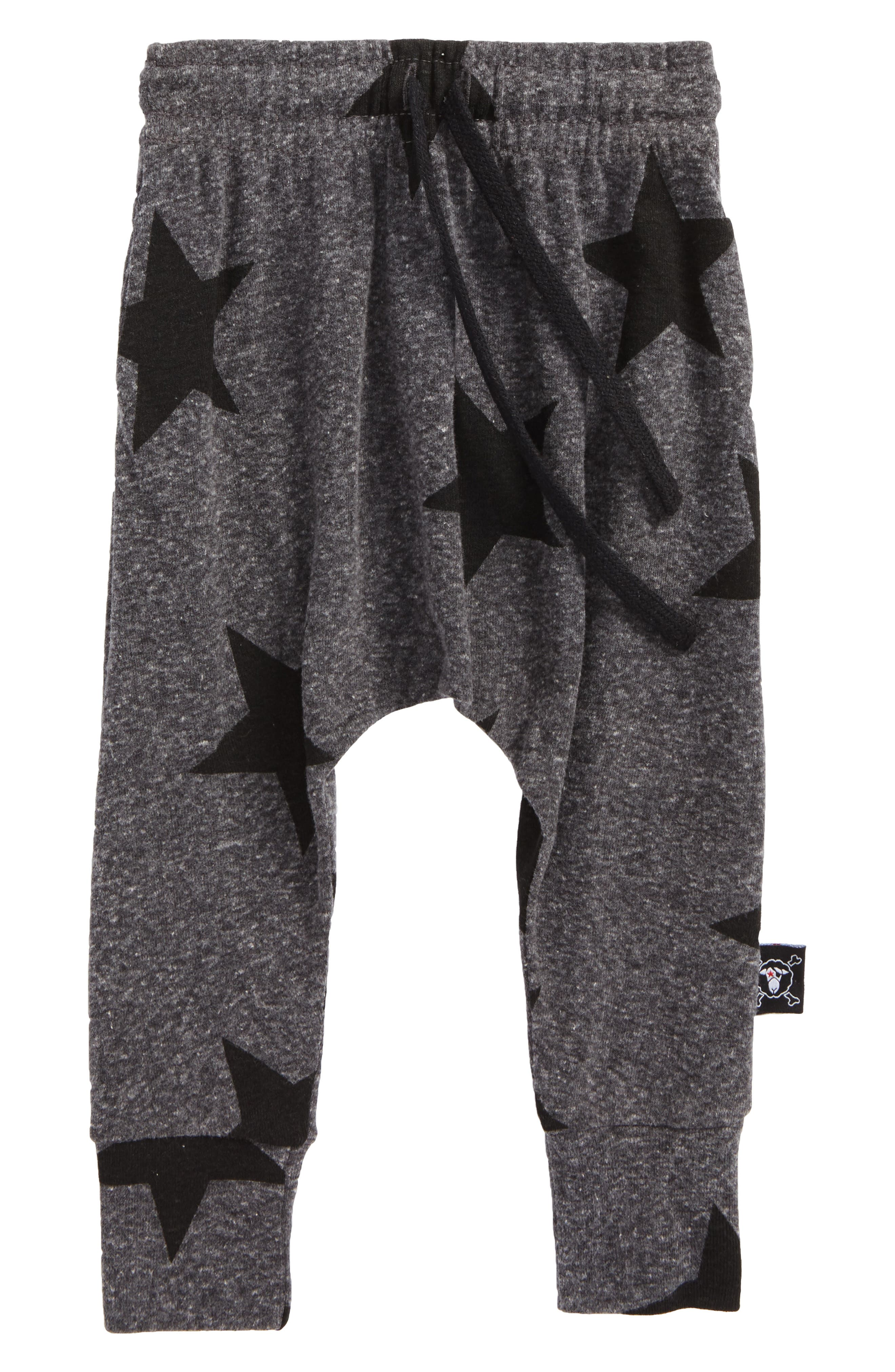 Star Print Baggy Pants,                         Main,                         color, 020