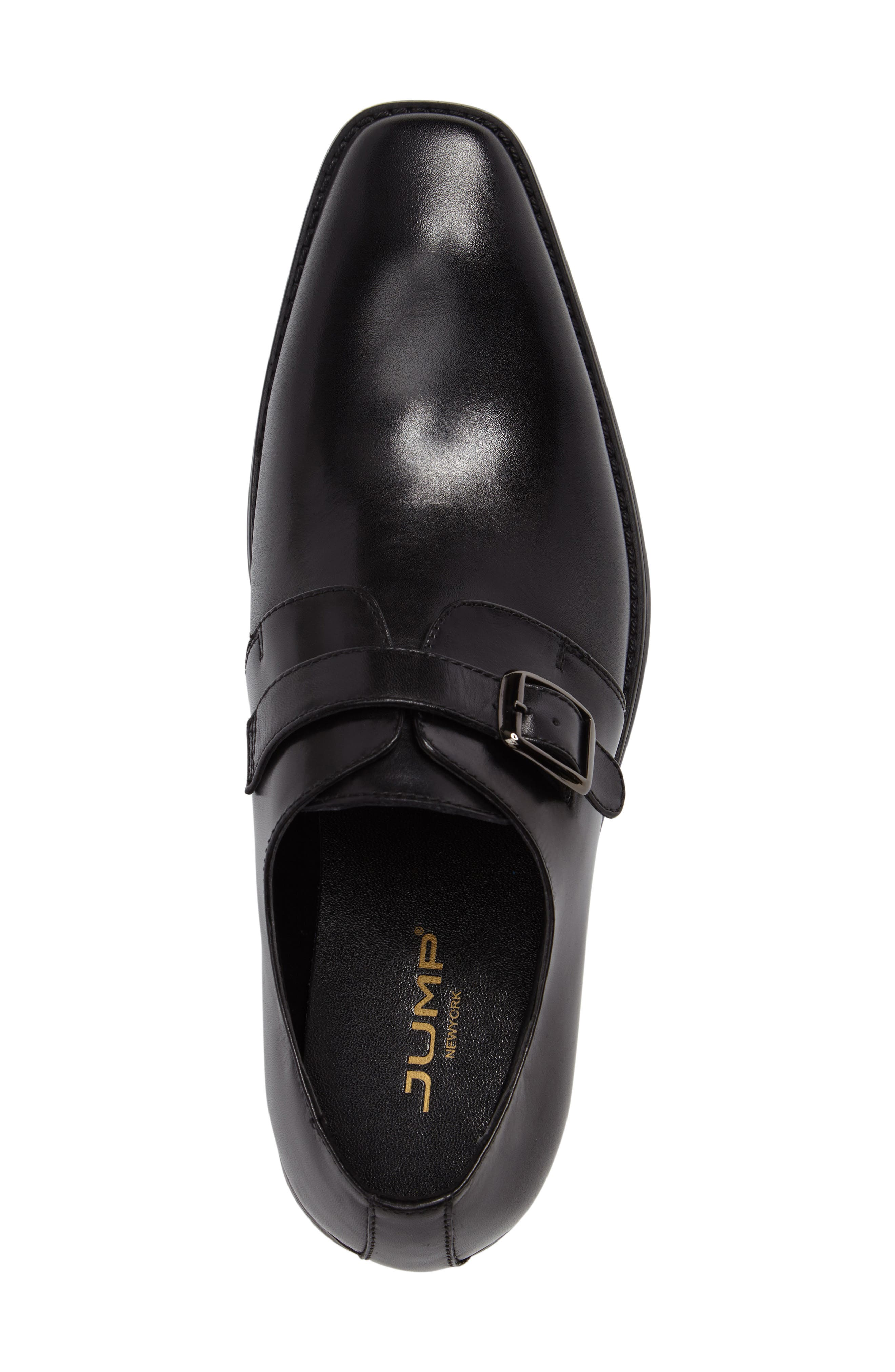 Landon Monk Strap Shoe,                             Alternate thumbnail 5, color,                             001