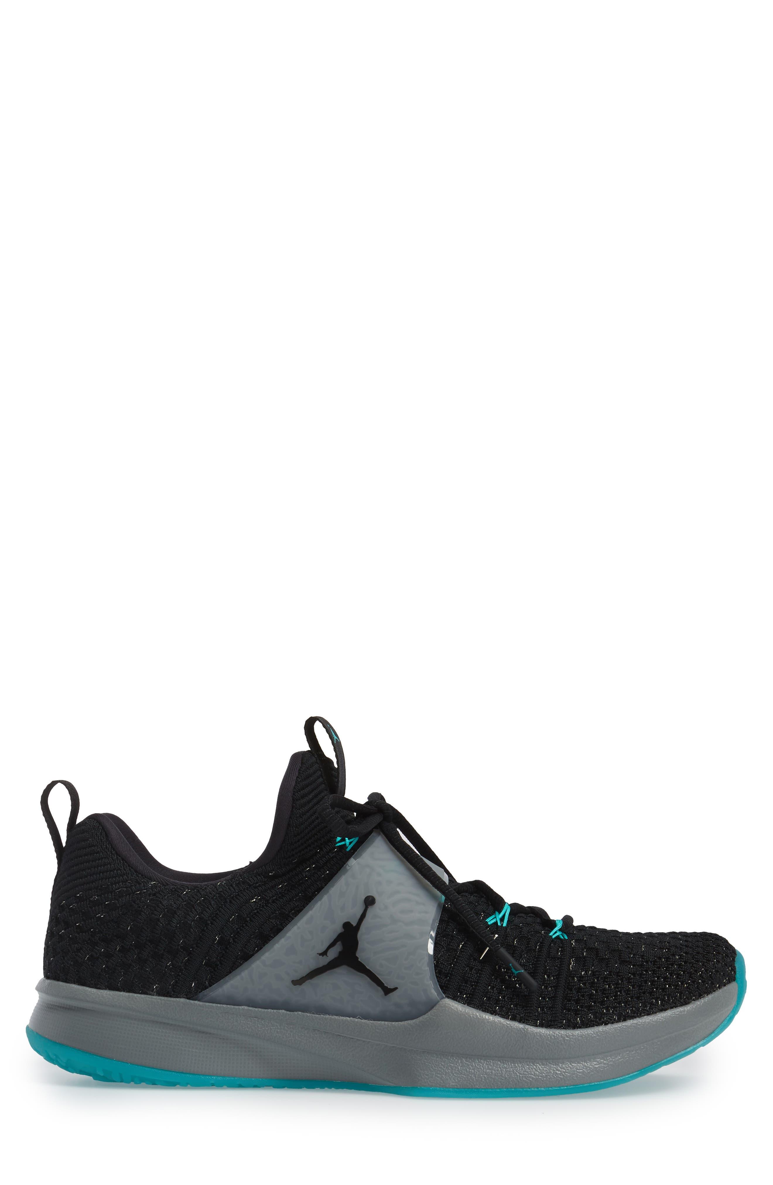 Jordan Flyknit Trainer 2 Low Sneaker,                             Alternate thumbnail 13, color,