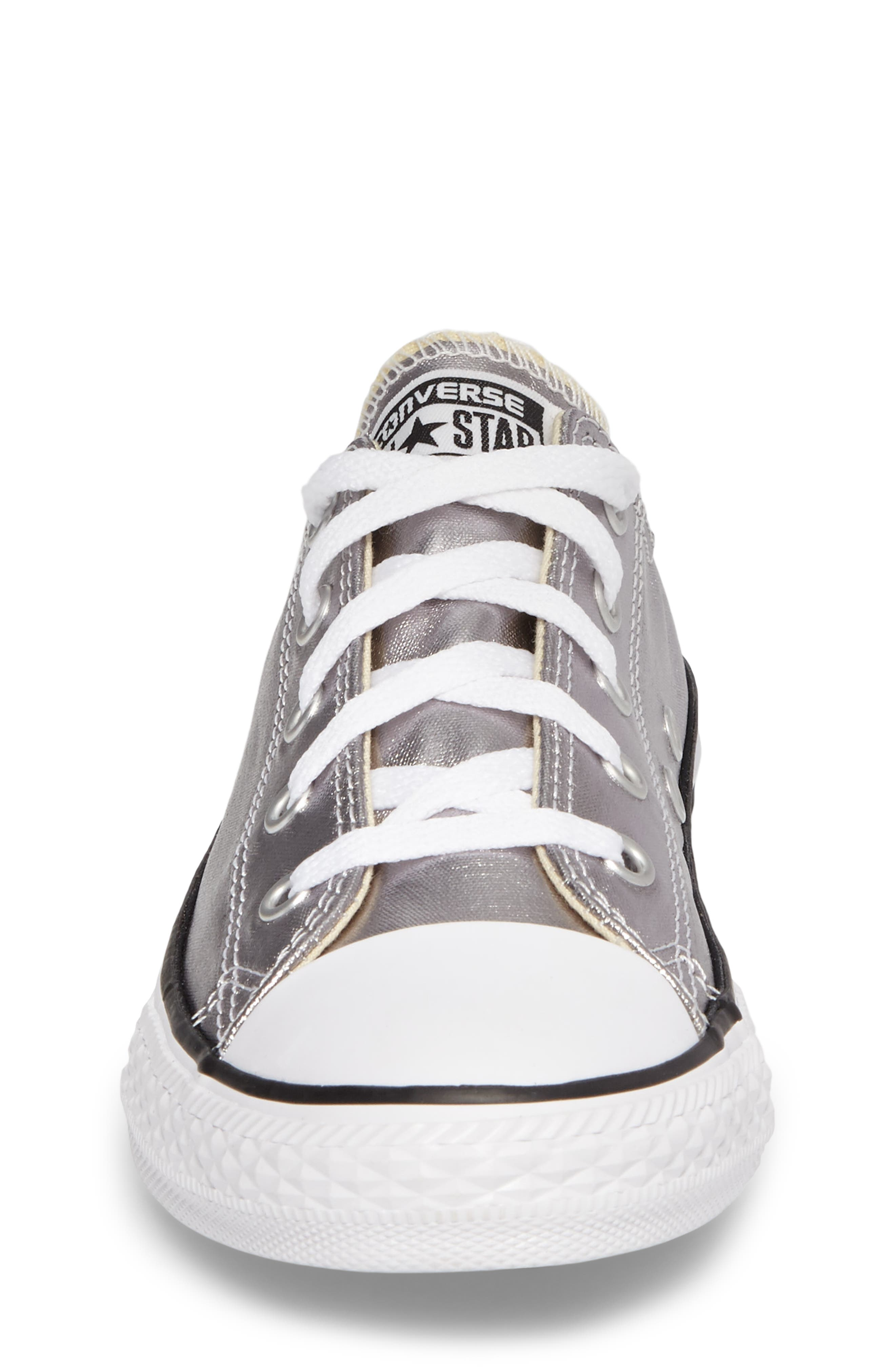Chuck Taylor<sup>®</sup> All Star<sup>®</sup> Metallic Sneaker,                             Alternate thumbnail 4, color,                             040