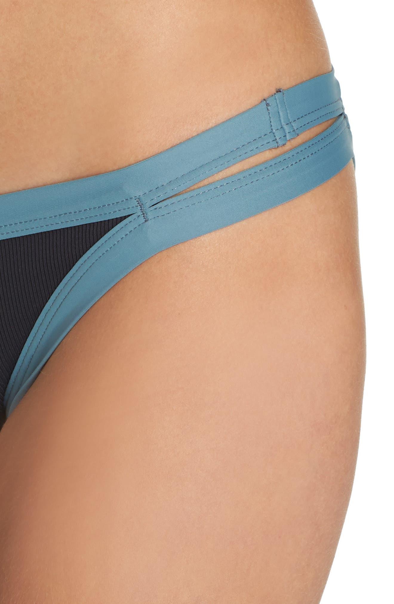 Charlie Classic Bikini Bottoms,                             Alternate thumbnail 4, color,