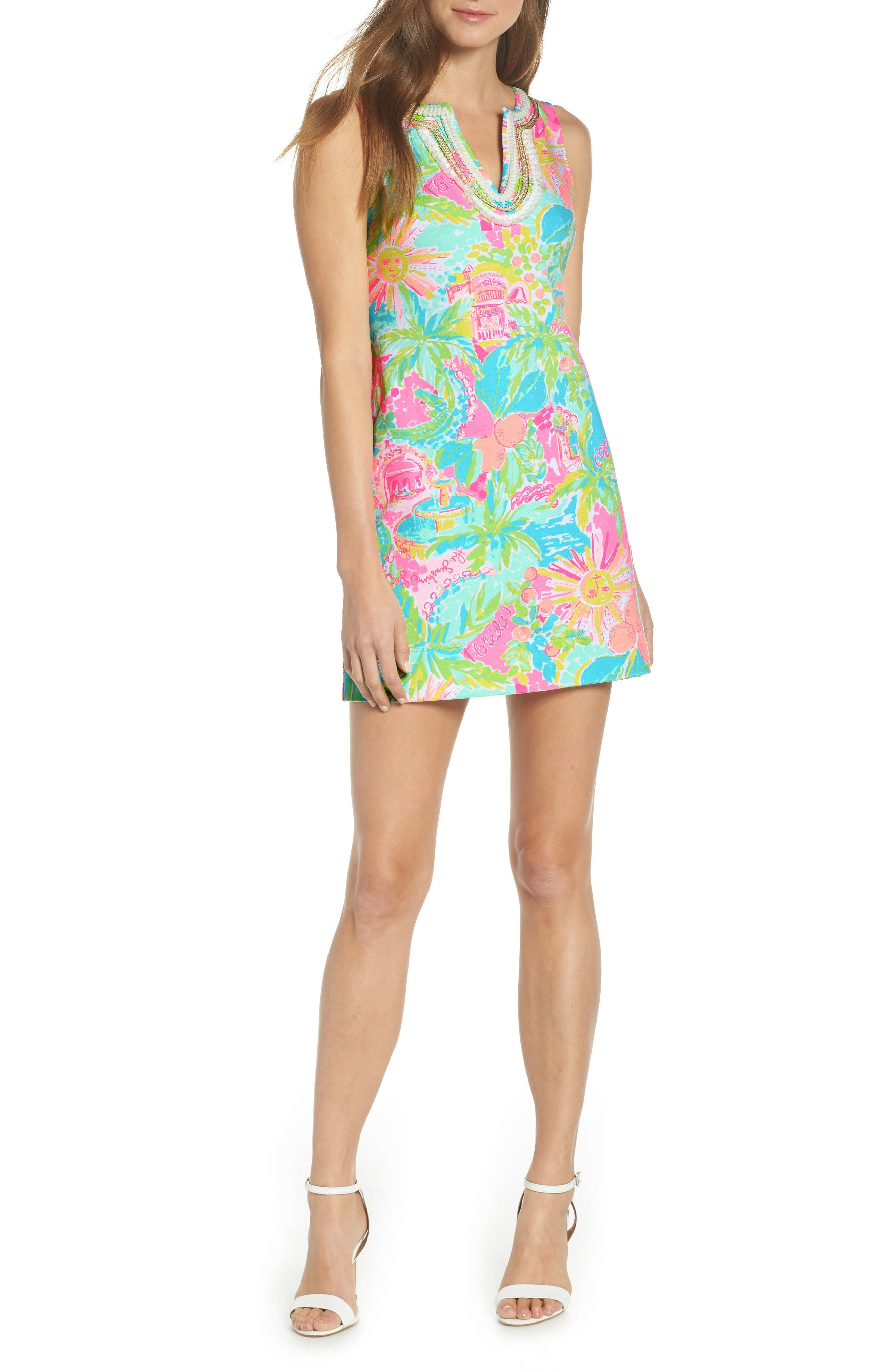 Lilly Pulitzer Harper Shift Dress, Pink