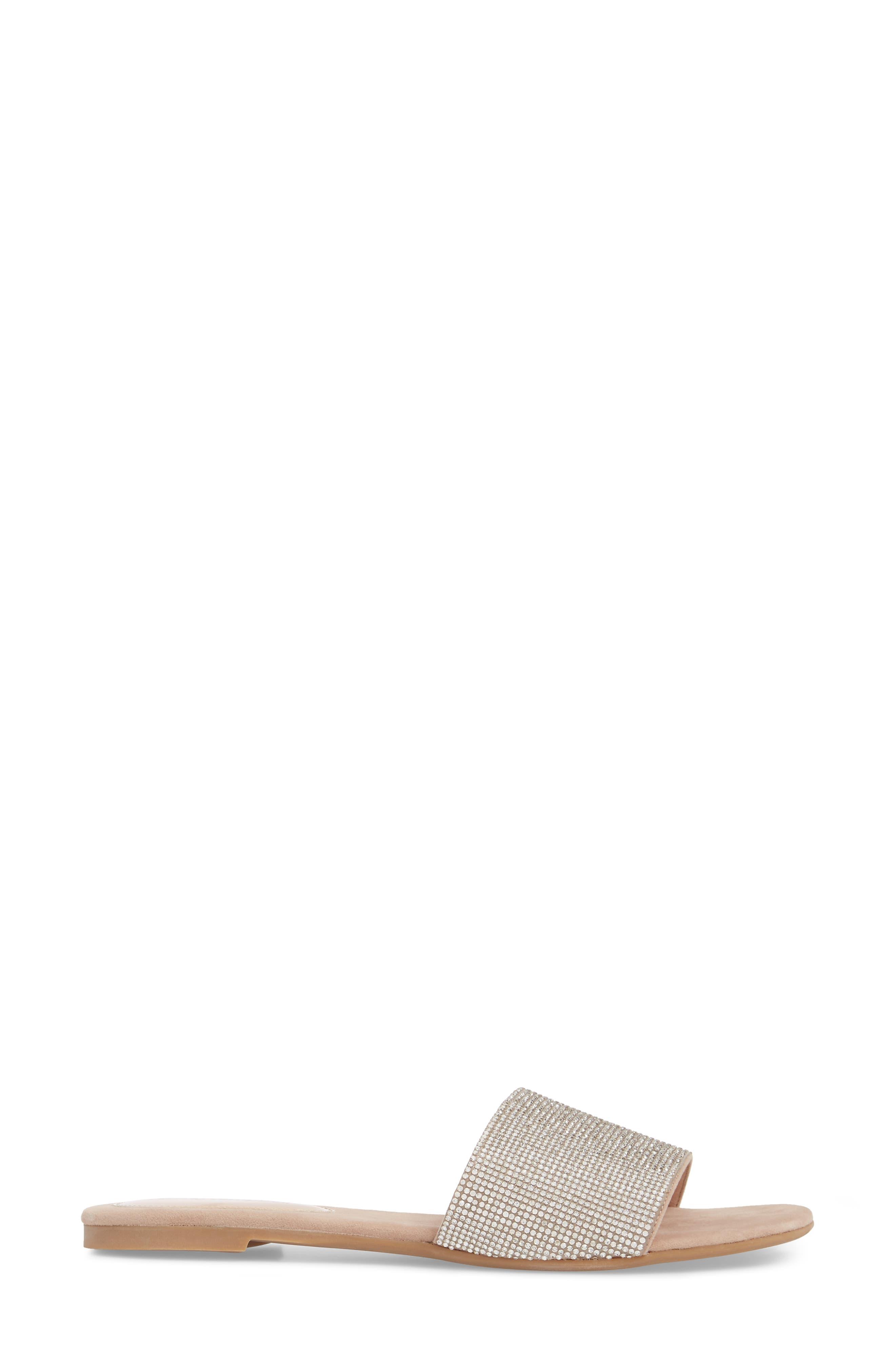 Sparque Embellished Slide Sandal,                             Alternate thumbnail 6, color,