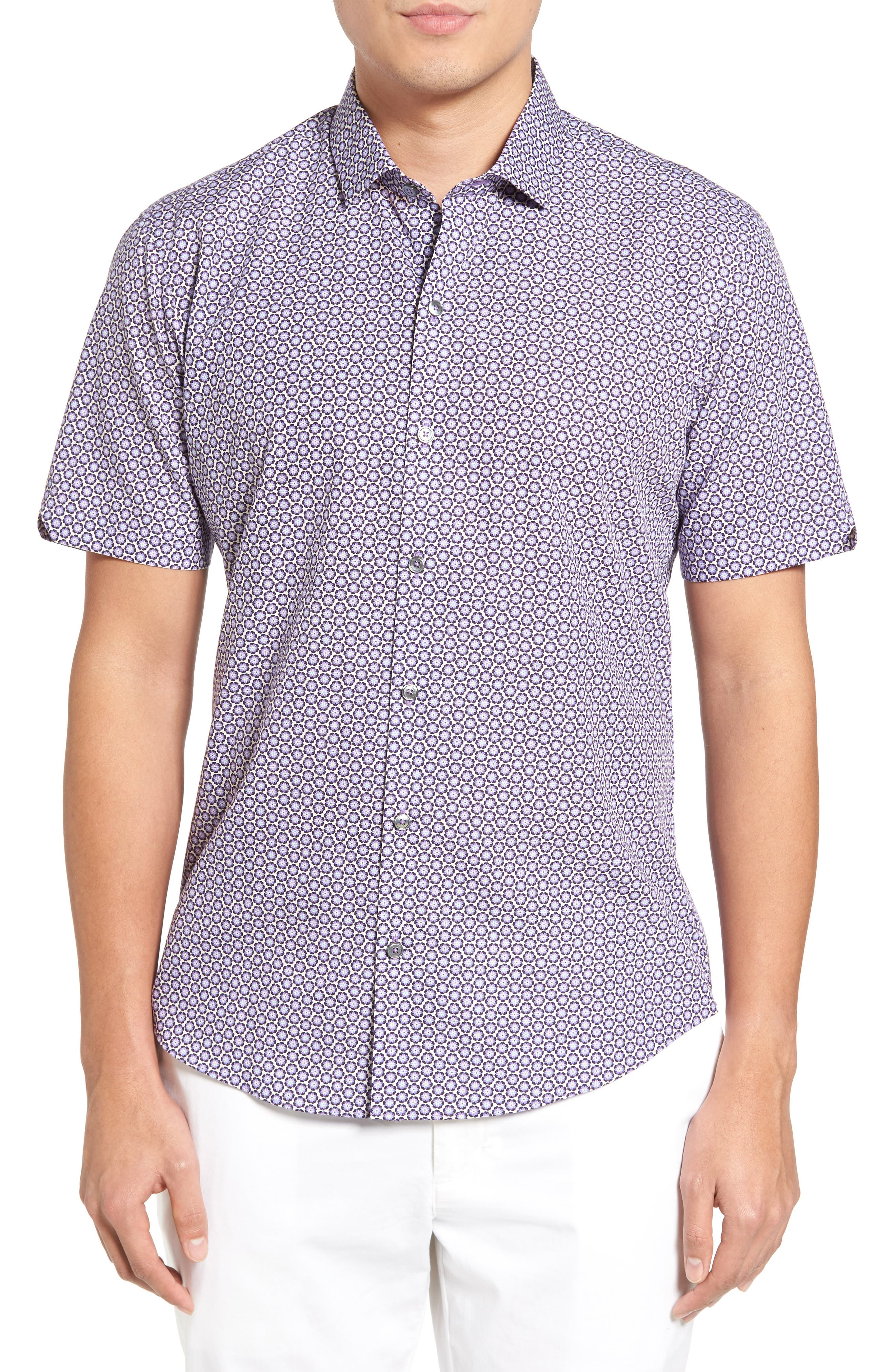 Werito Print Sport Shirt,                         Main,                         color,