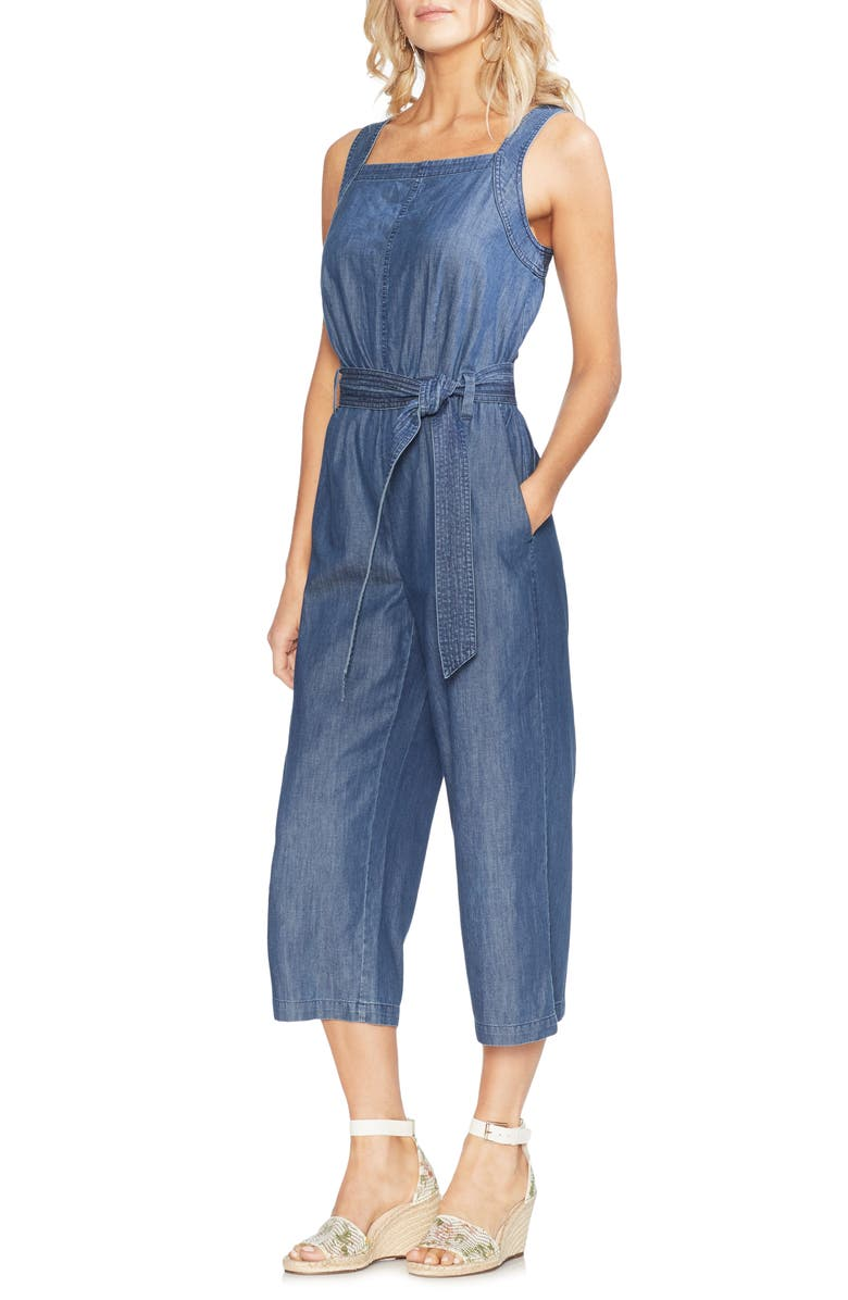 Vince Camuto Denim Jumpsuit
