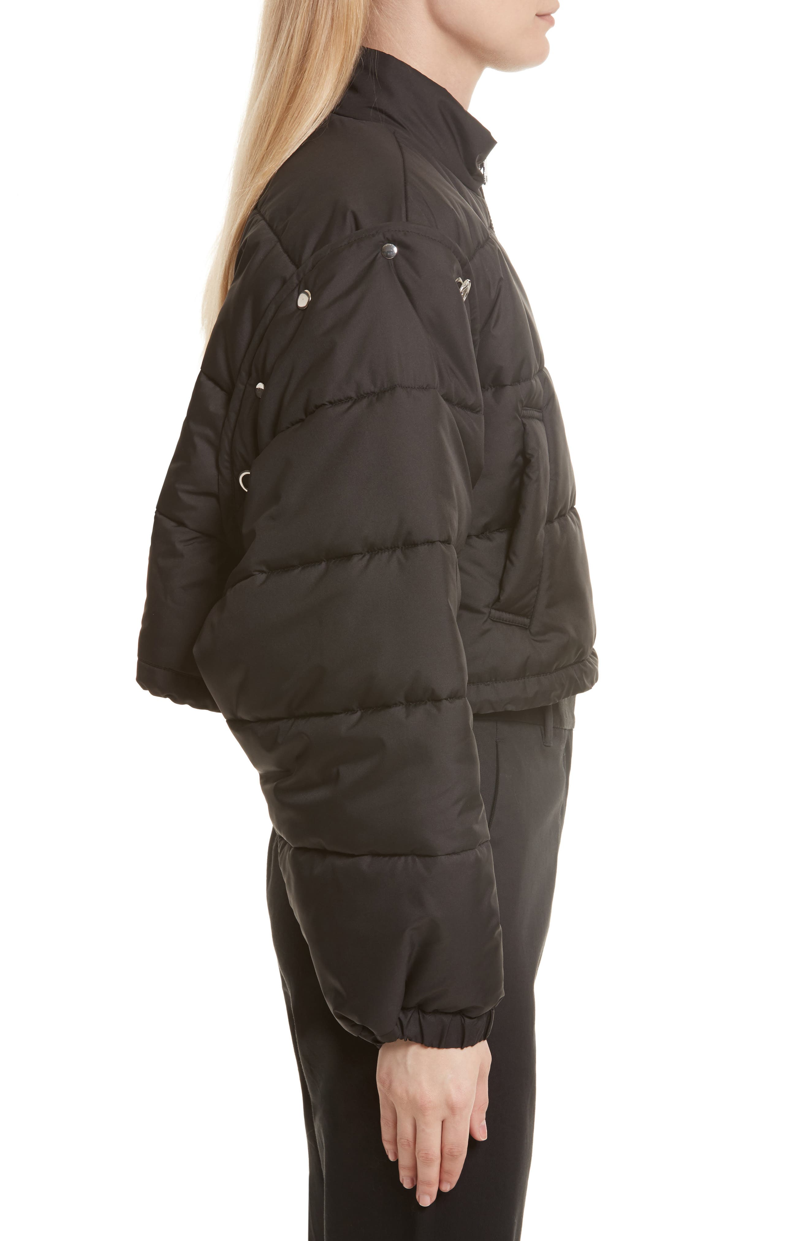 Quilted Bomber,                             Alternate thumbnail 3, color,                             001
