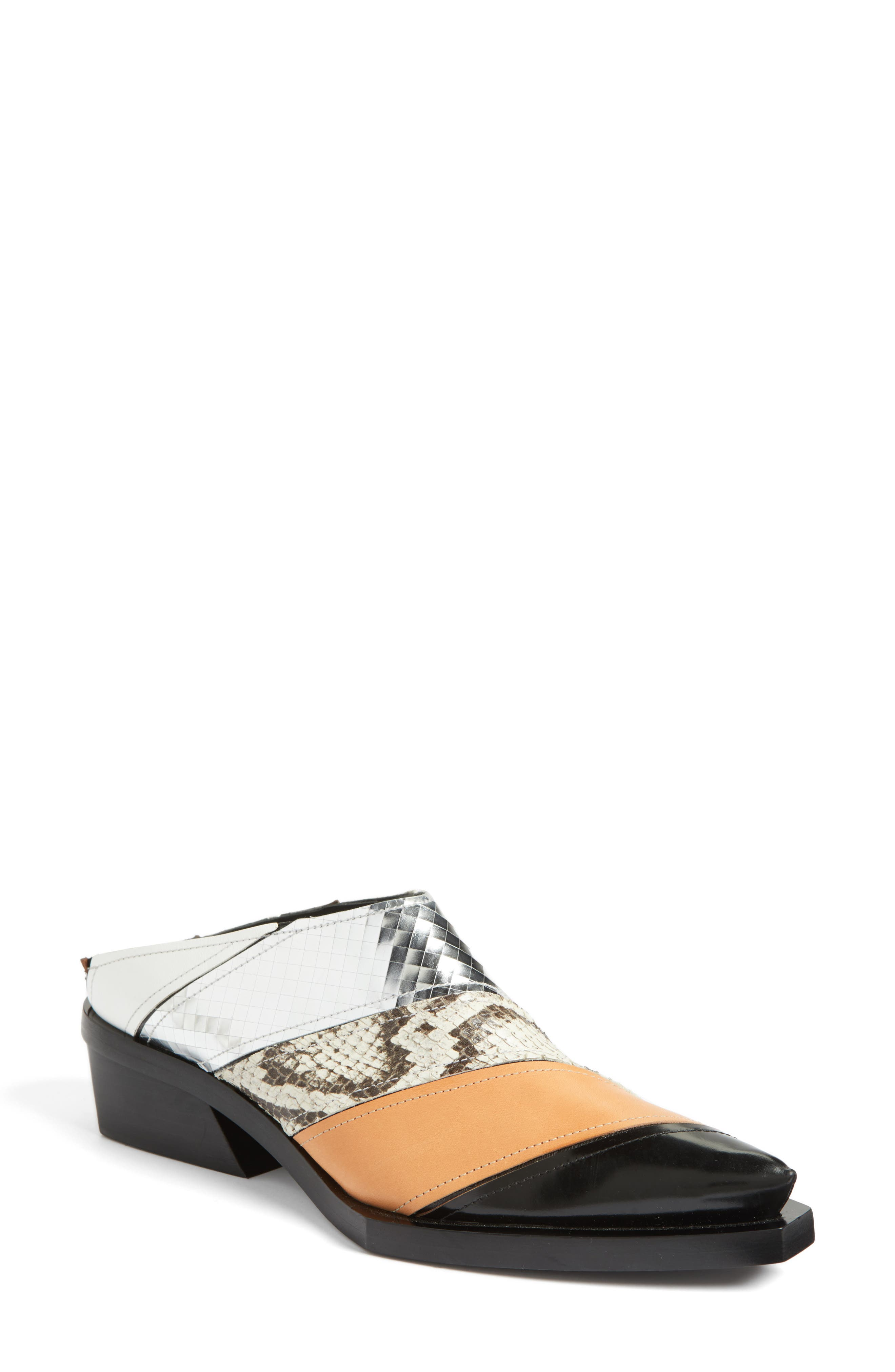 Backless Mule,                         Main,                         color, 001