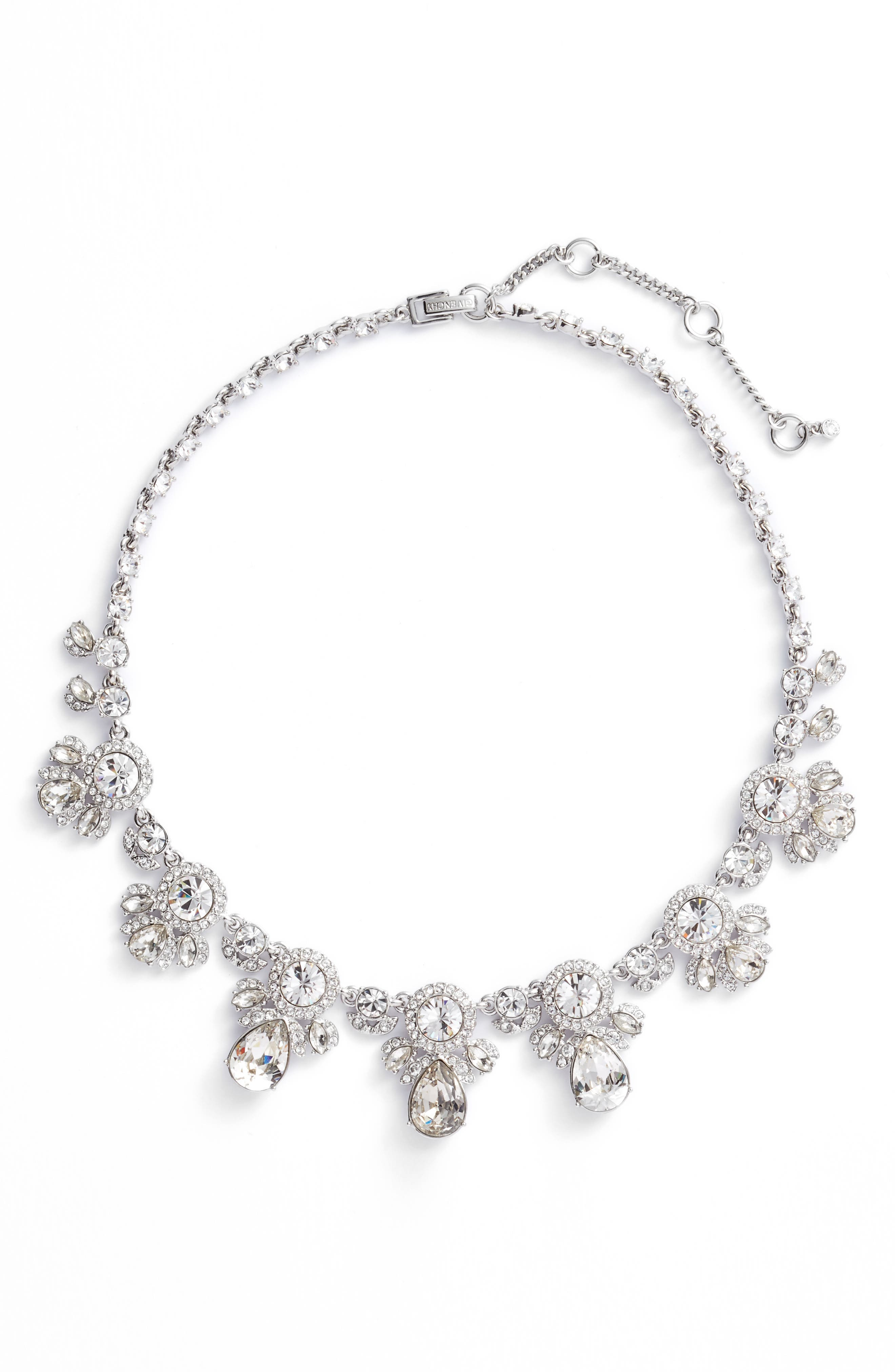 Drama Crystal Collar Necklace,                         Main,                         color, 040