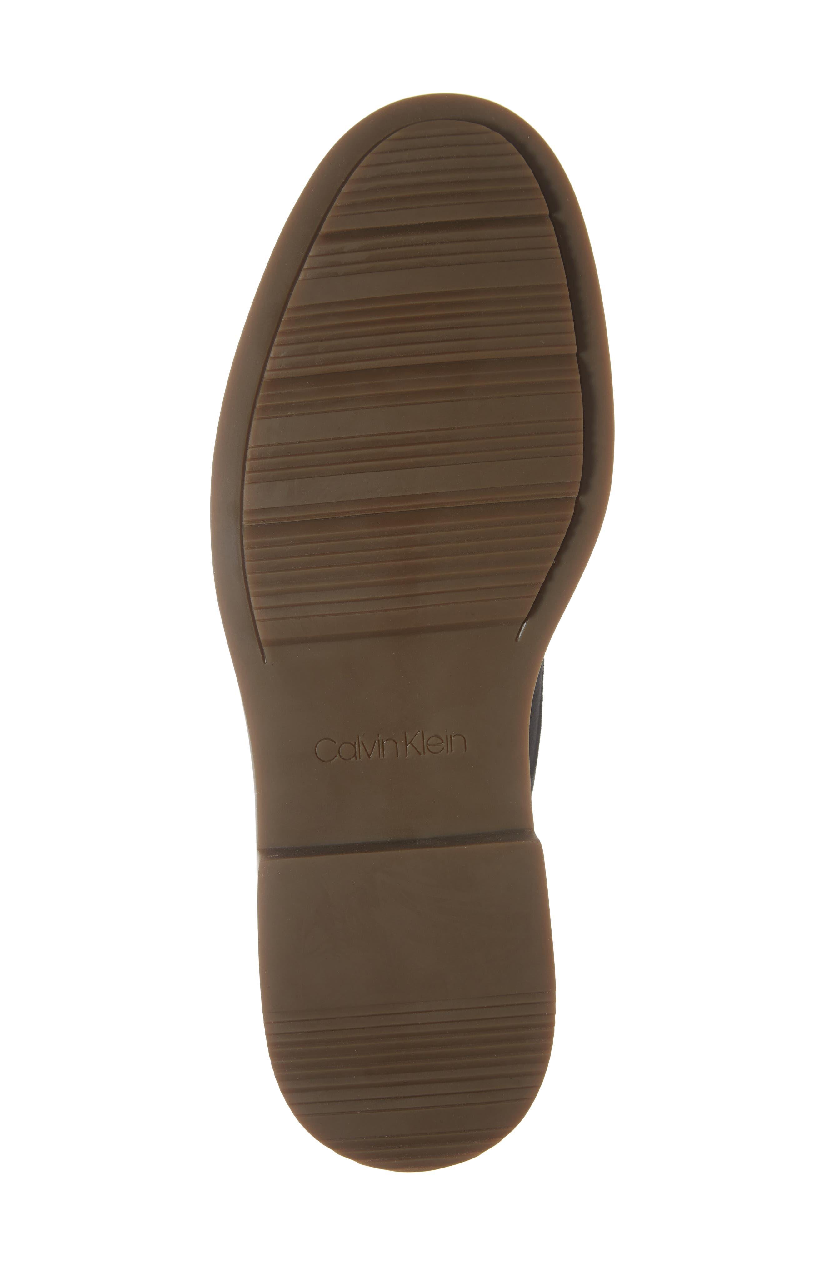 Varick Plain Toe Derby,                             Alternate thumbnail 6, color,                             STEEL GREYSTONE CALF SUEDE