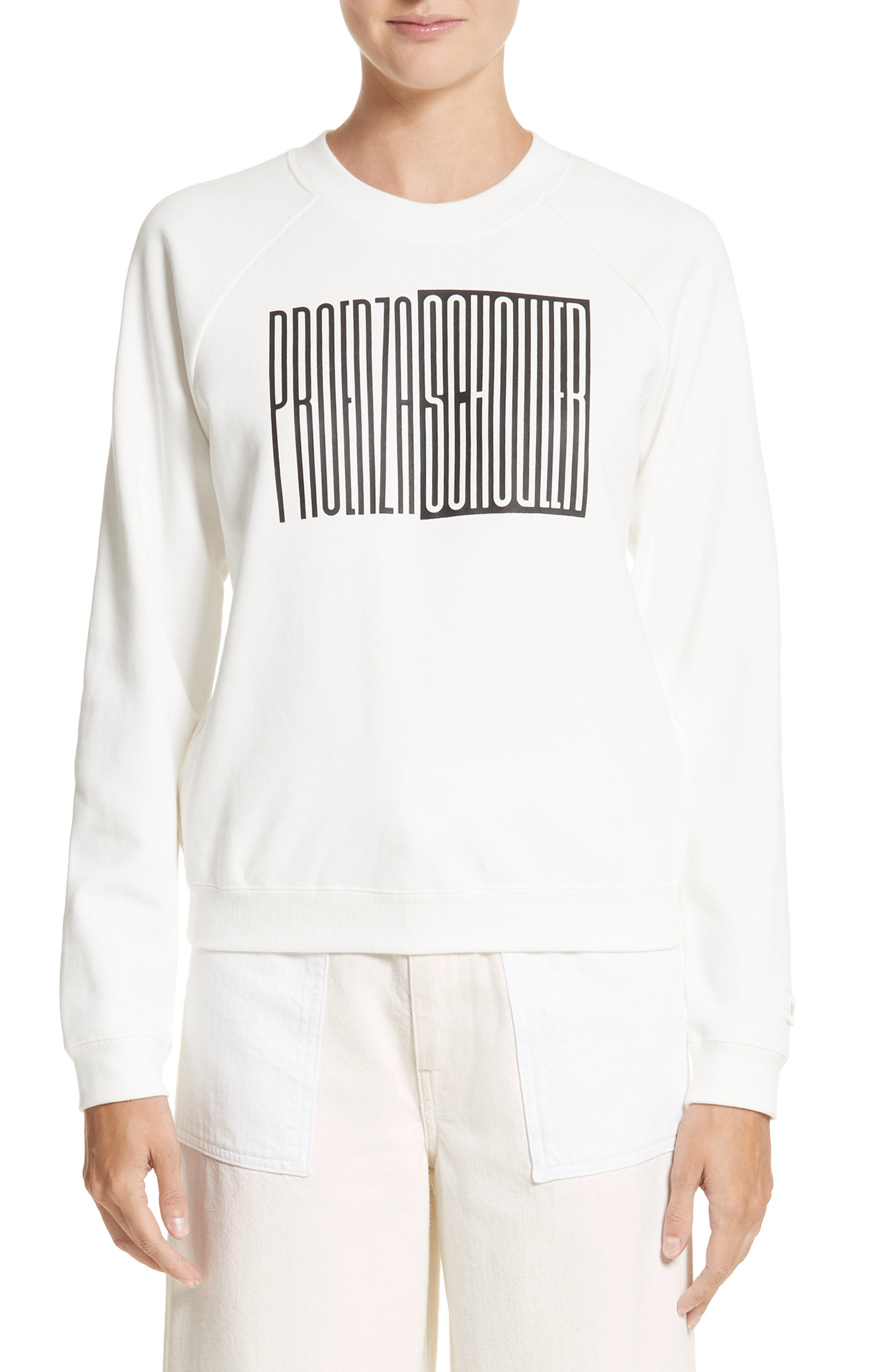 PSWL Graphic Jersey Shrunken Sweatshirt,                         Main,                         color, 114