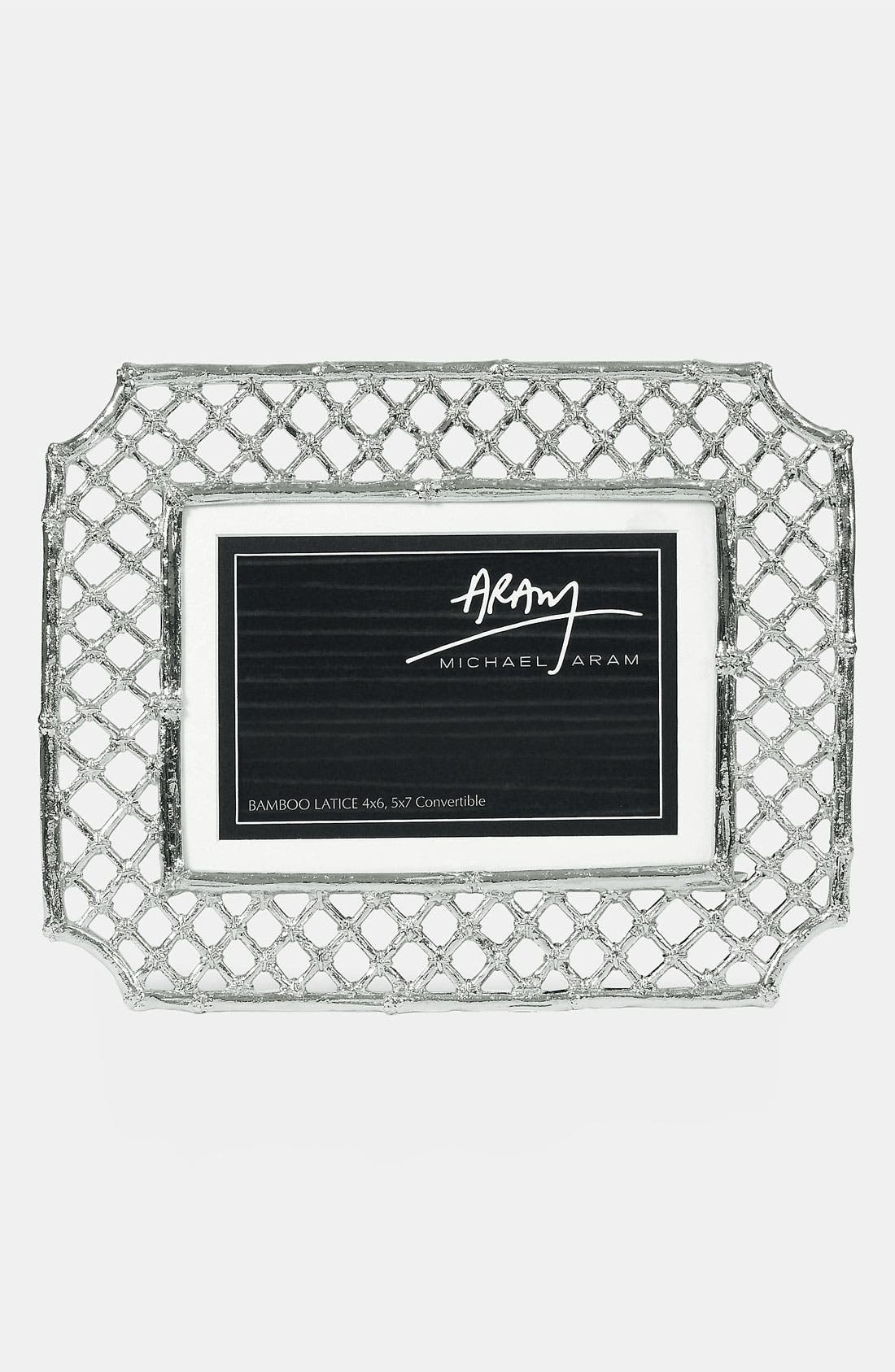 MICHAEL ARAM,                             'Bamboo Lattice' Convertible Picture Frame,                             Alternate thumbnail 2, color,                             960