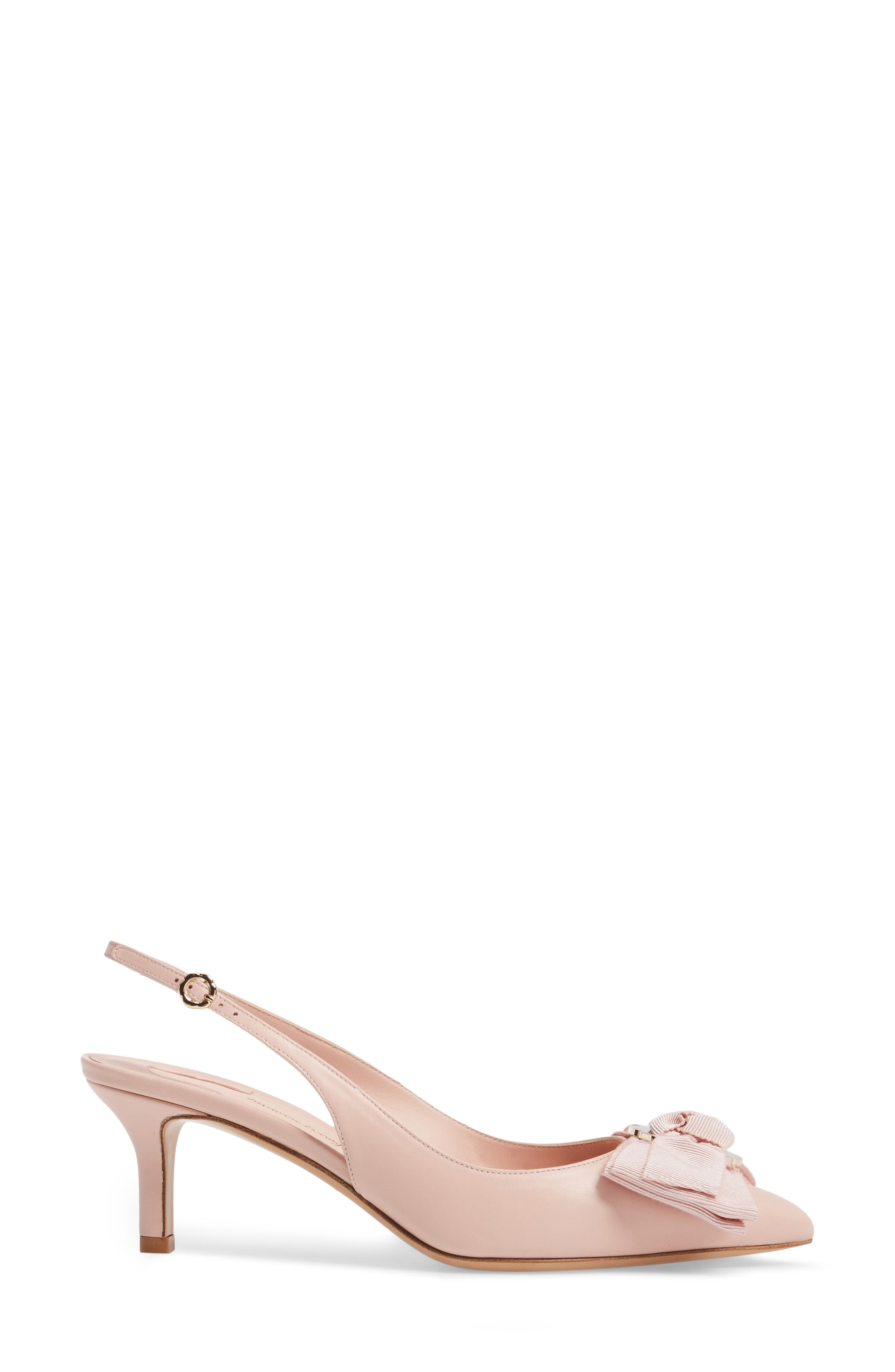 Laterina Slingback Pump,                             Alternate thumbnail 3, color,