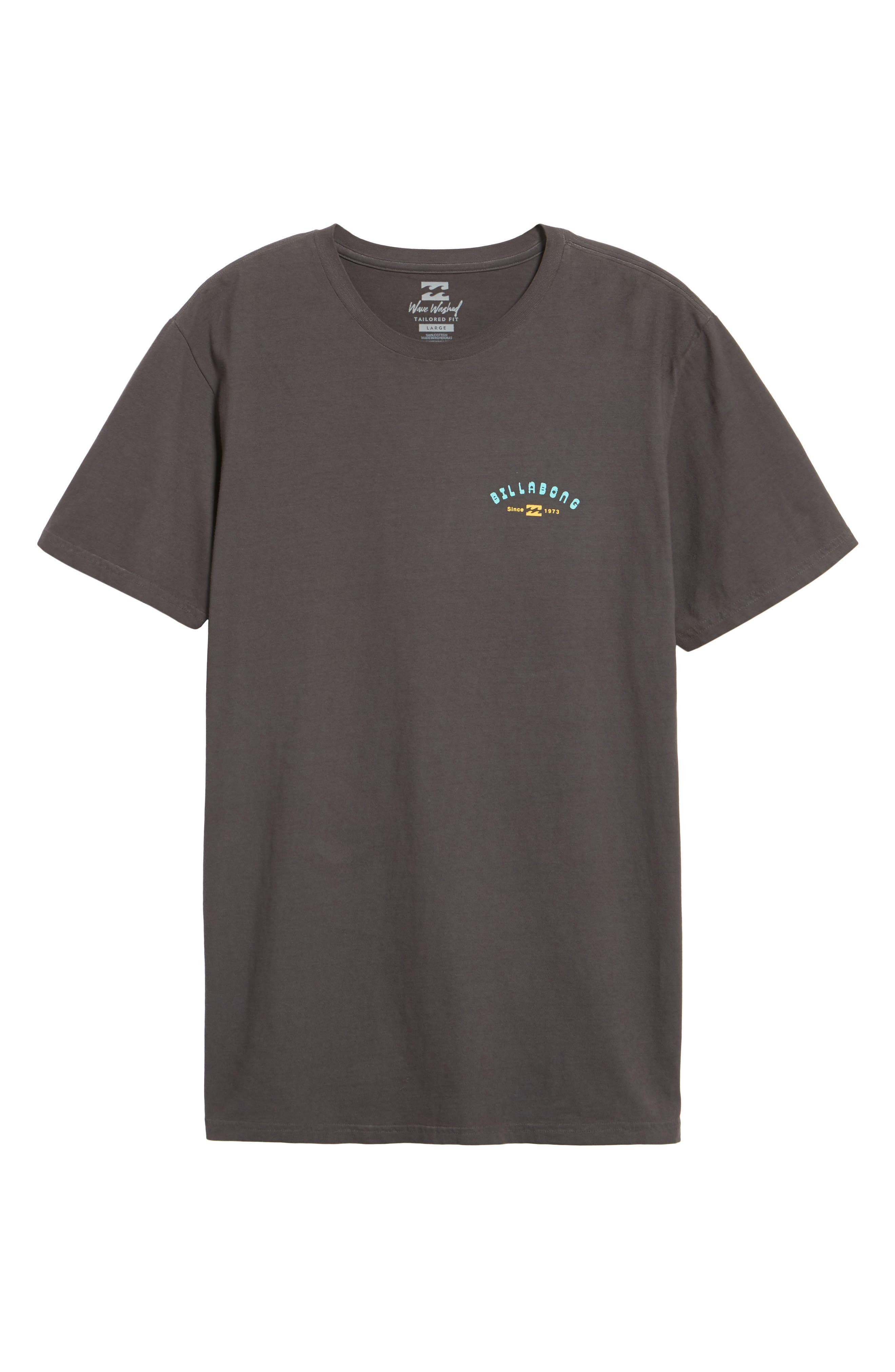 Single Fin Graphic T-Shirt,                             Alternate thumbnail 6, color,                             010