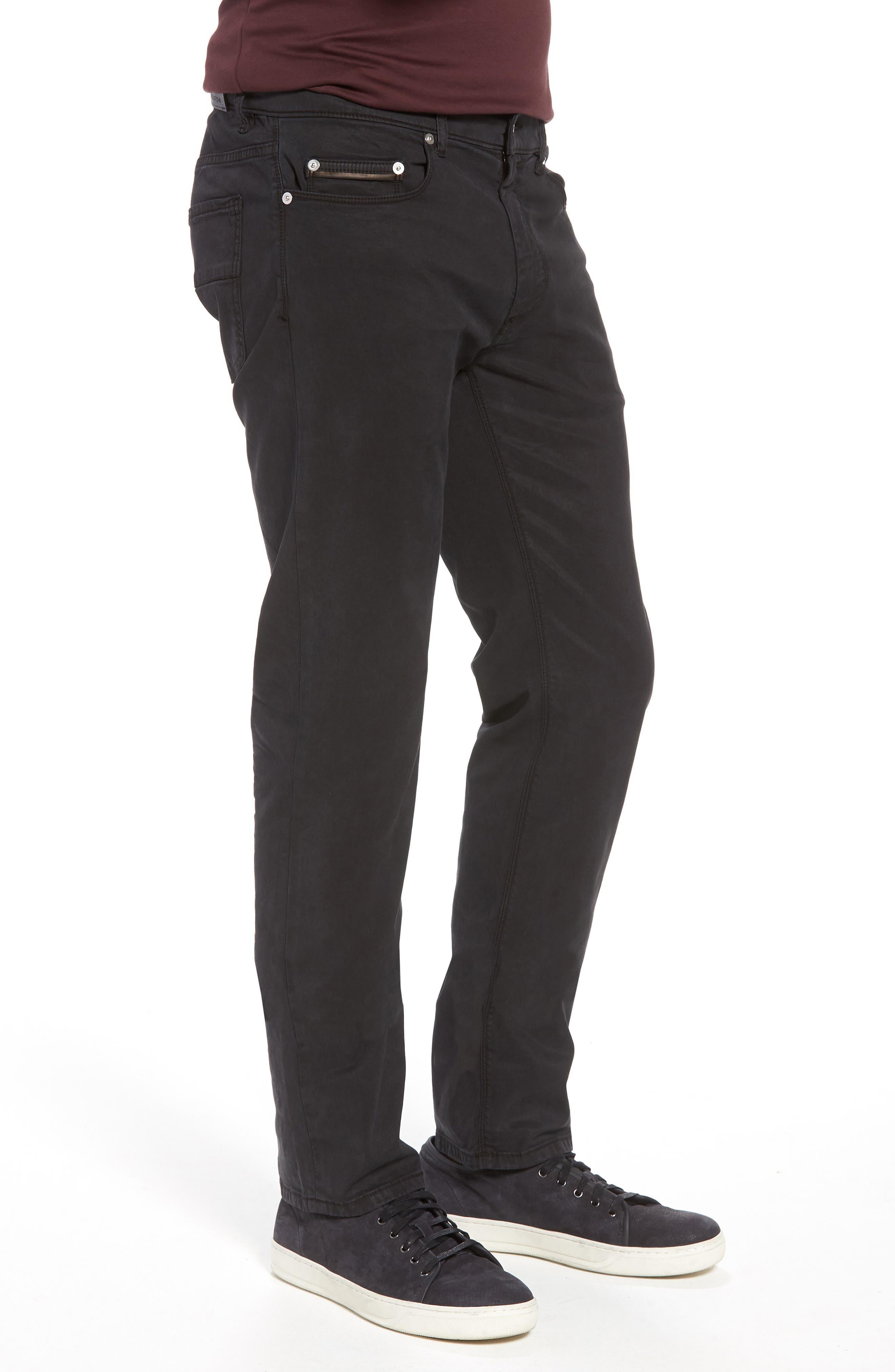 Trim Fit Pants,                             Alternate thumbnail 3, color,                             001