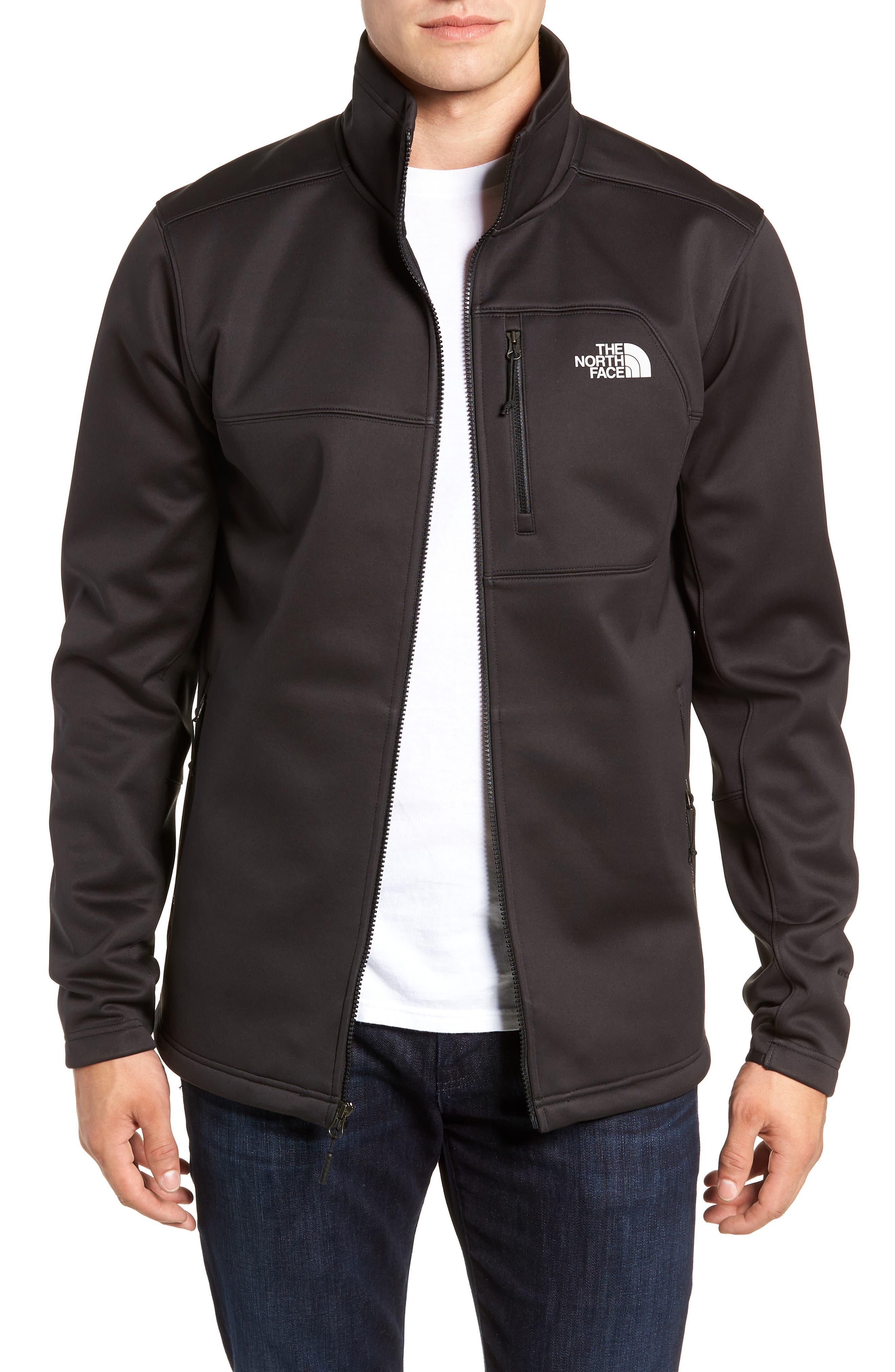 Apex Risor Jacket,                             Main thumbnail 1, color,                             TNF BLACK/ TNF BLACK