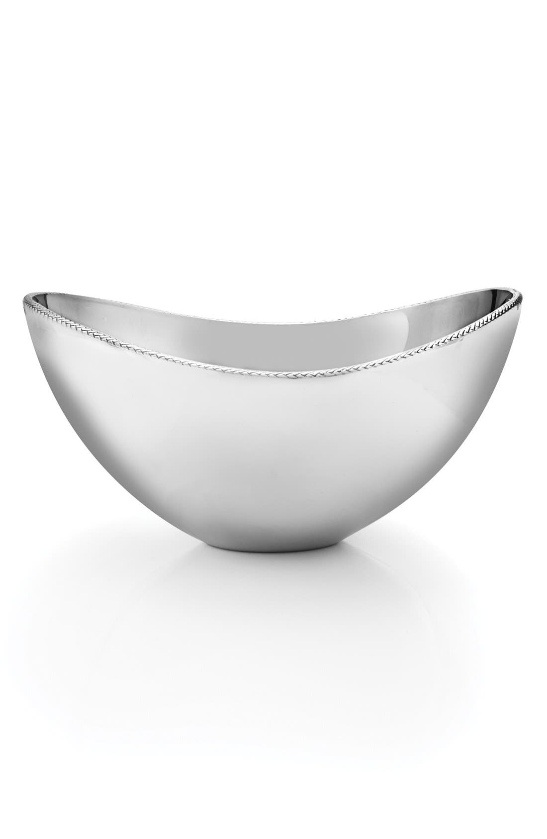 'Braid' Serving Bowl,                             Alternate thumbnail 5, color,                             040