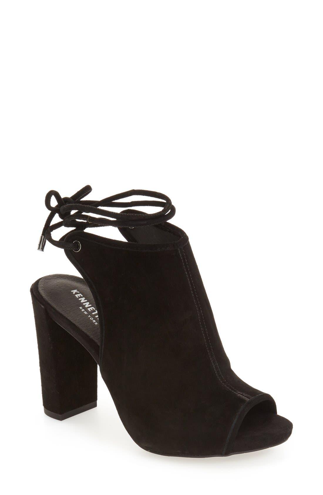 Darla Block Heel Sandal,                             Main thumbnail 1, color,                             001