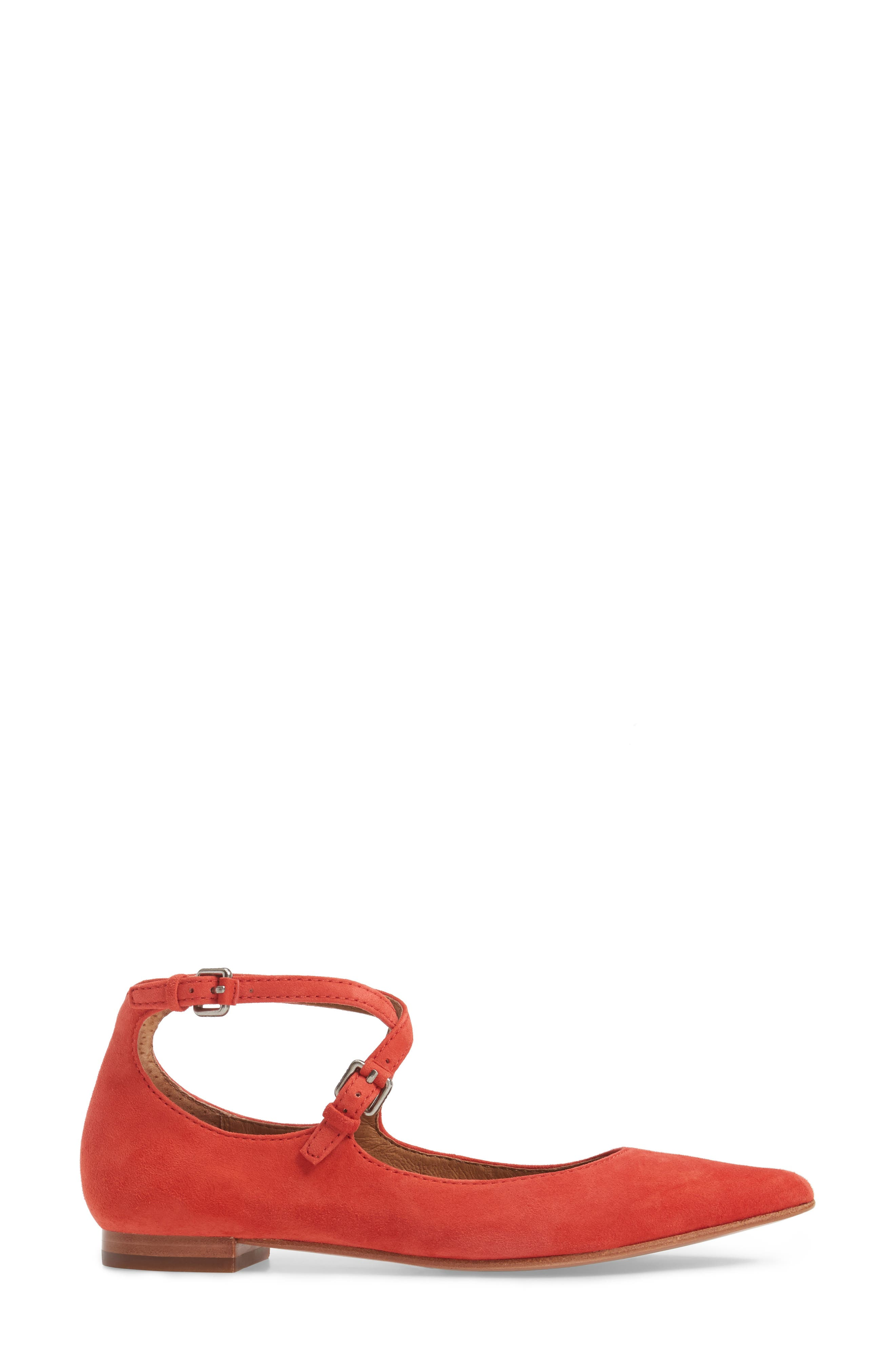 Sienna Cross Ballet Flat,                             Alternate thumbnail 9, color,