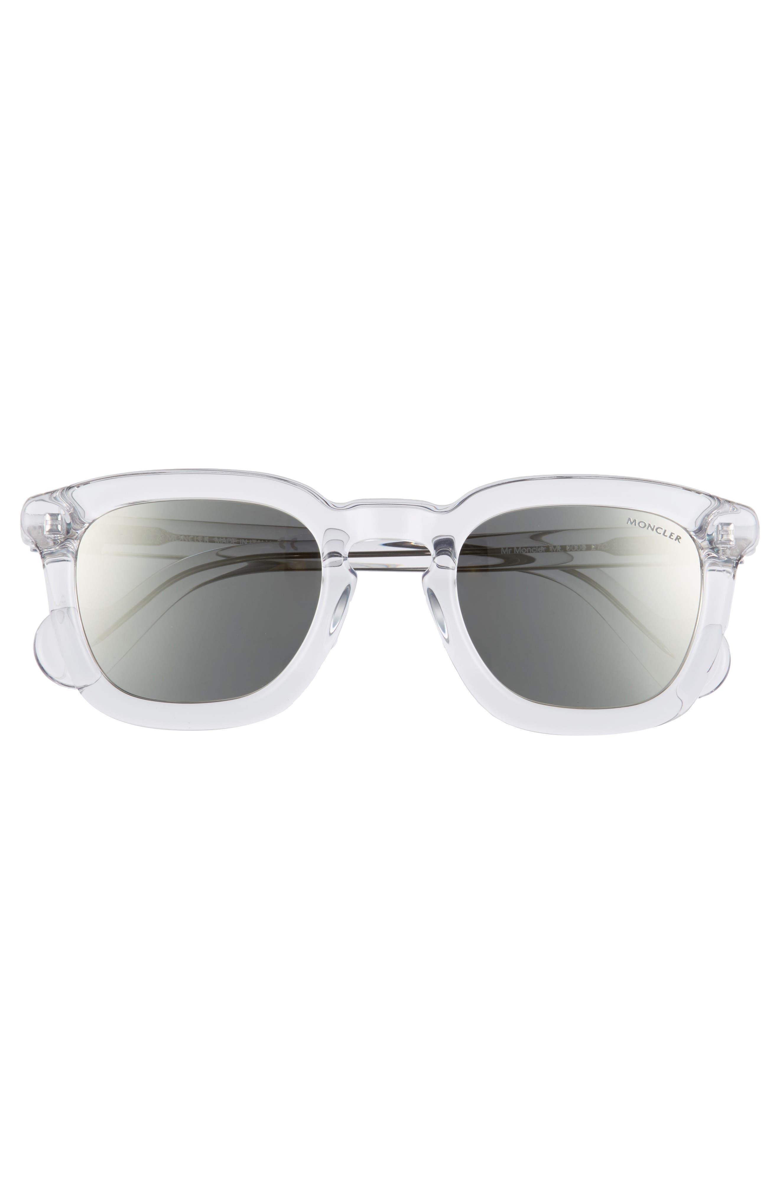 50mm Square Sunglasses,                             Alternate thumbnail 6, color,