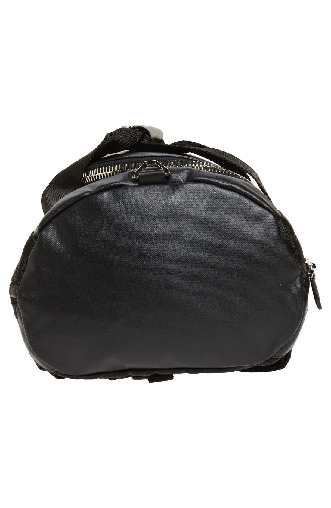 Coated Rubber Backpack,                             Alternate thumbnail 3, color,                             001