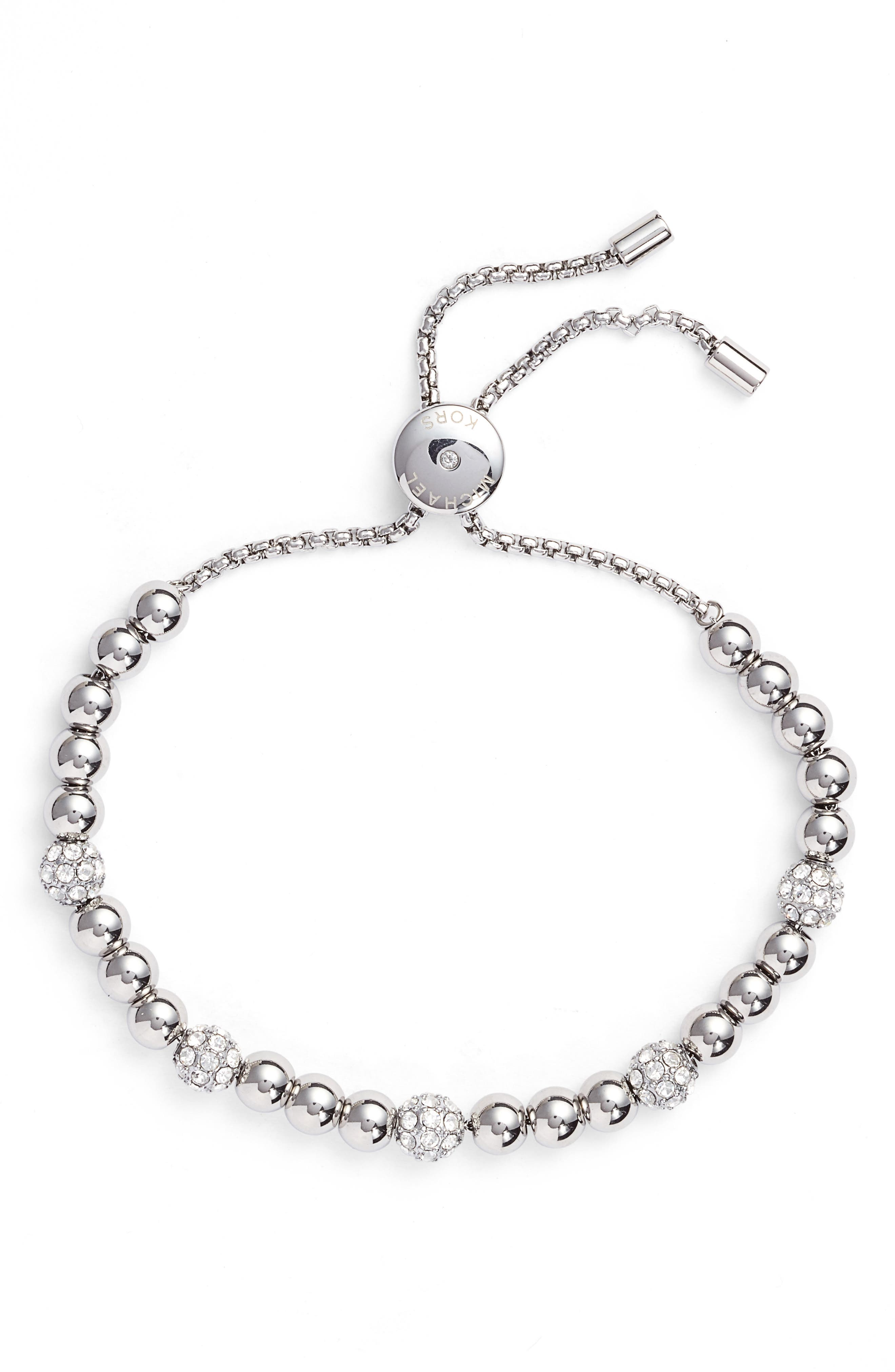 Beaded Bracelet,                         Main,                         color, 040